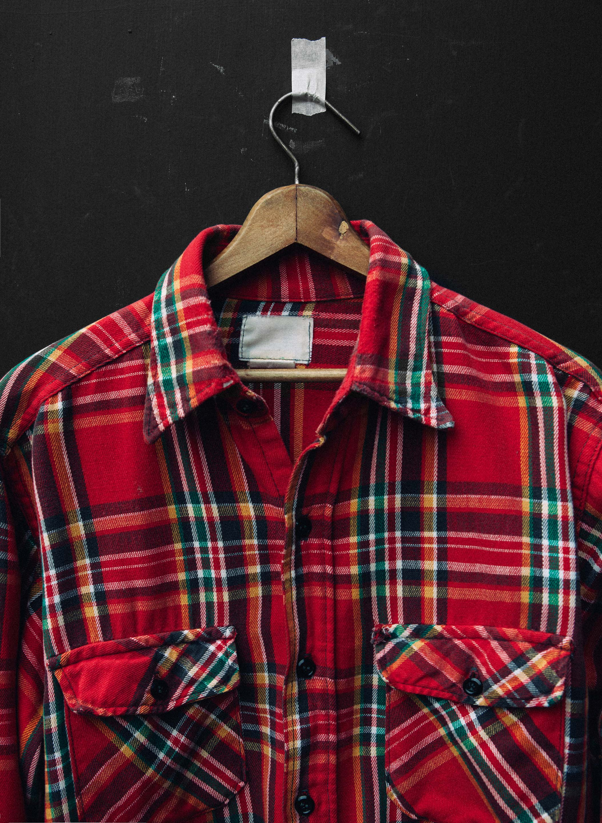 "imogene + willie - vintage ""proeneke"" plaid shirt"
