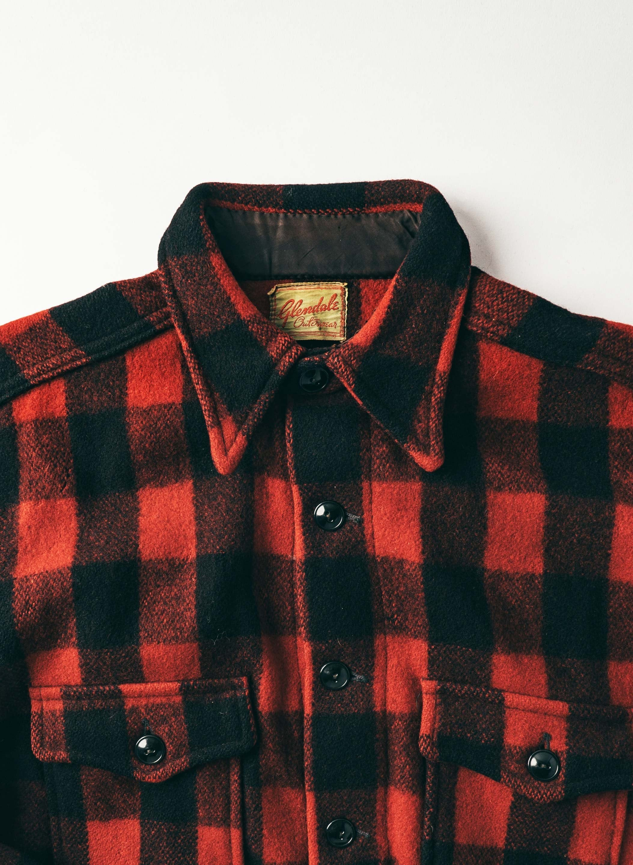 "imogene + willie - vintage ""glendale"" buffalo check"