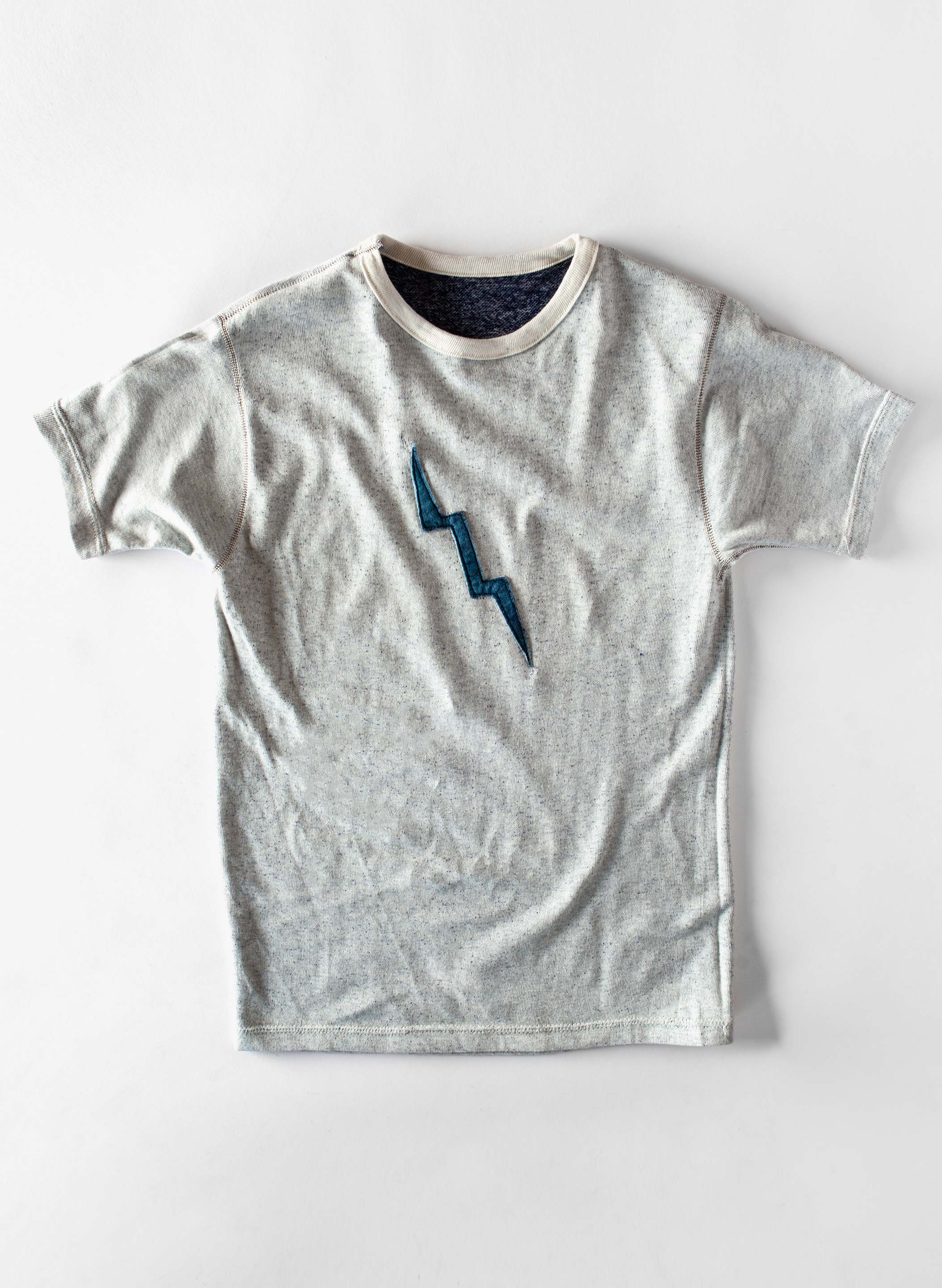 "imogene + willie - stitched ""bolt"" surf tee"