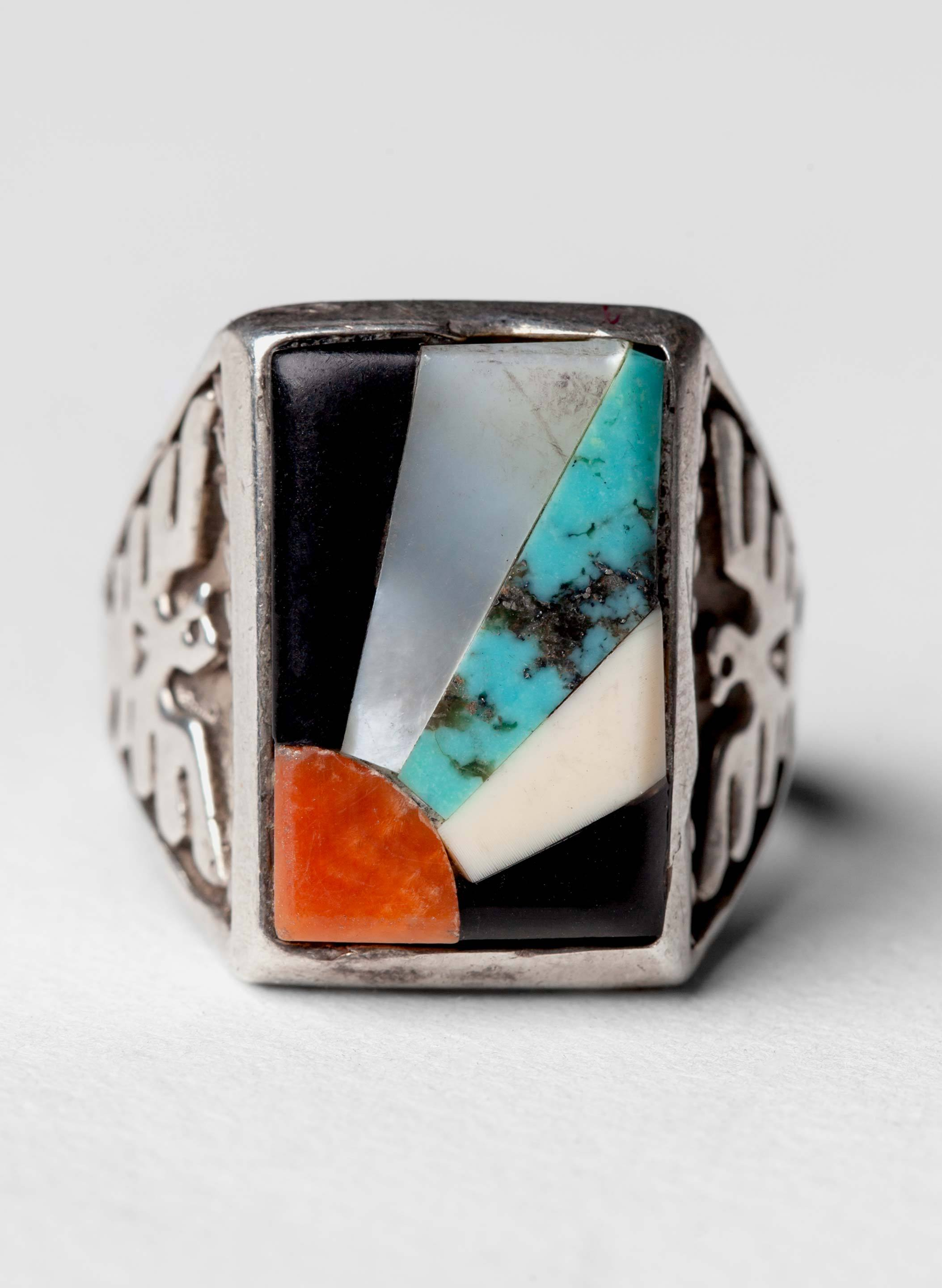 "imogene + willie - vintage ""yampai"" rising sun ring"