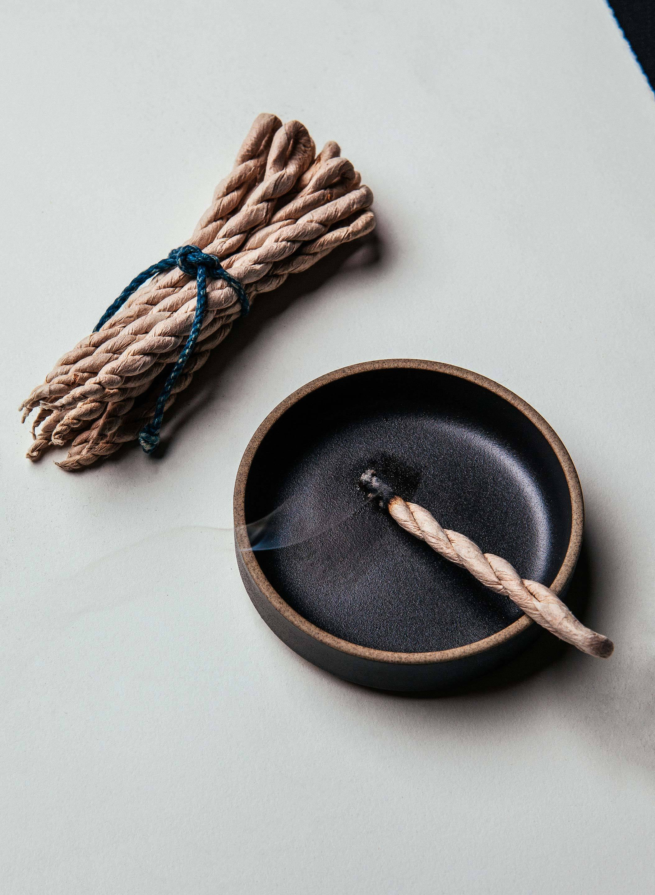 imogene + willie - tibetian cedar incense rope