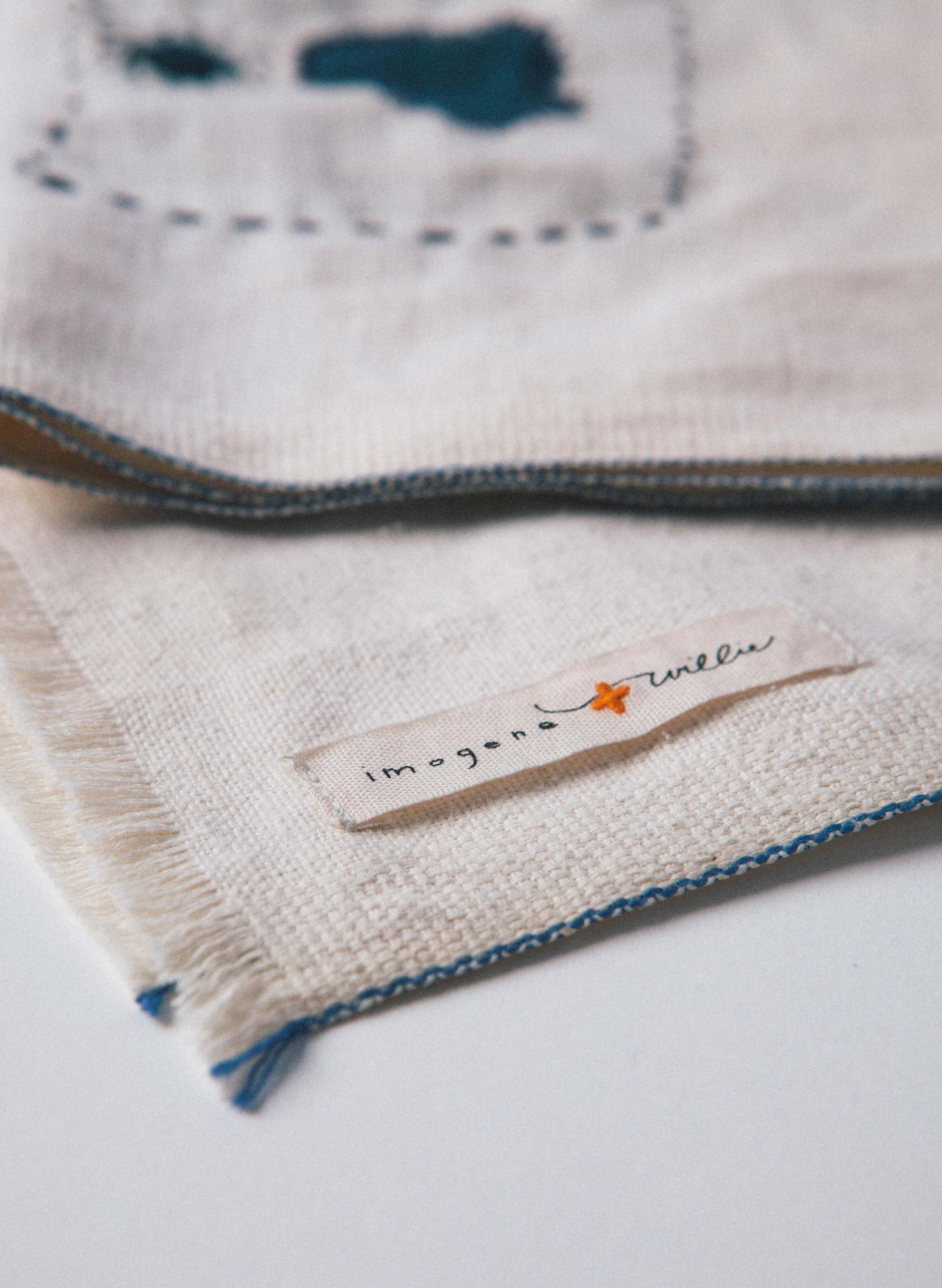 imogene + willie - deadstock repaired selvage scarf