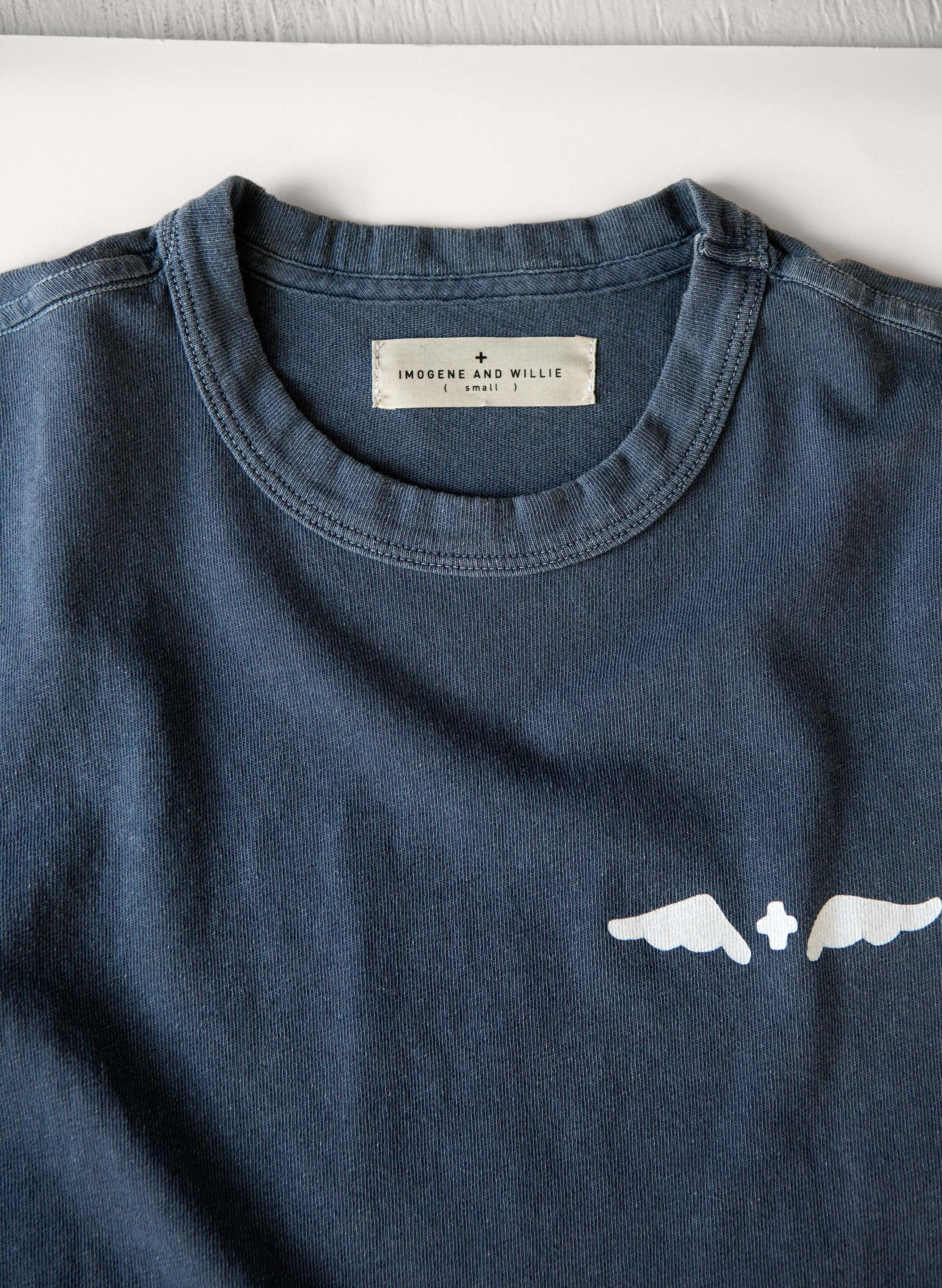 the shop tee pan am blue