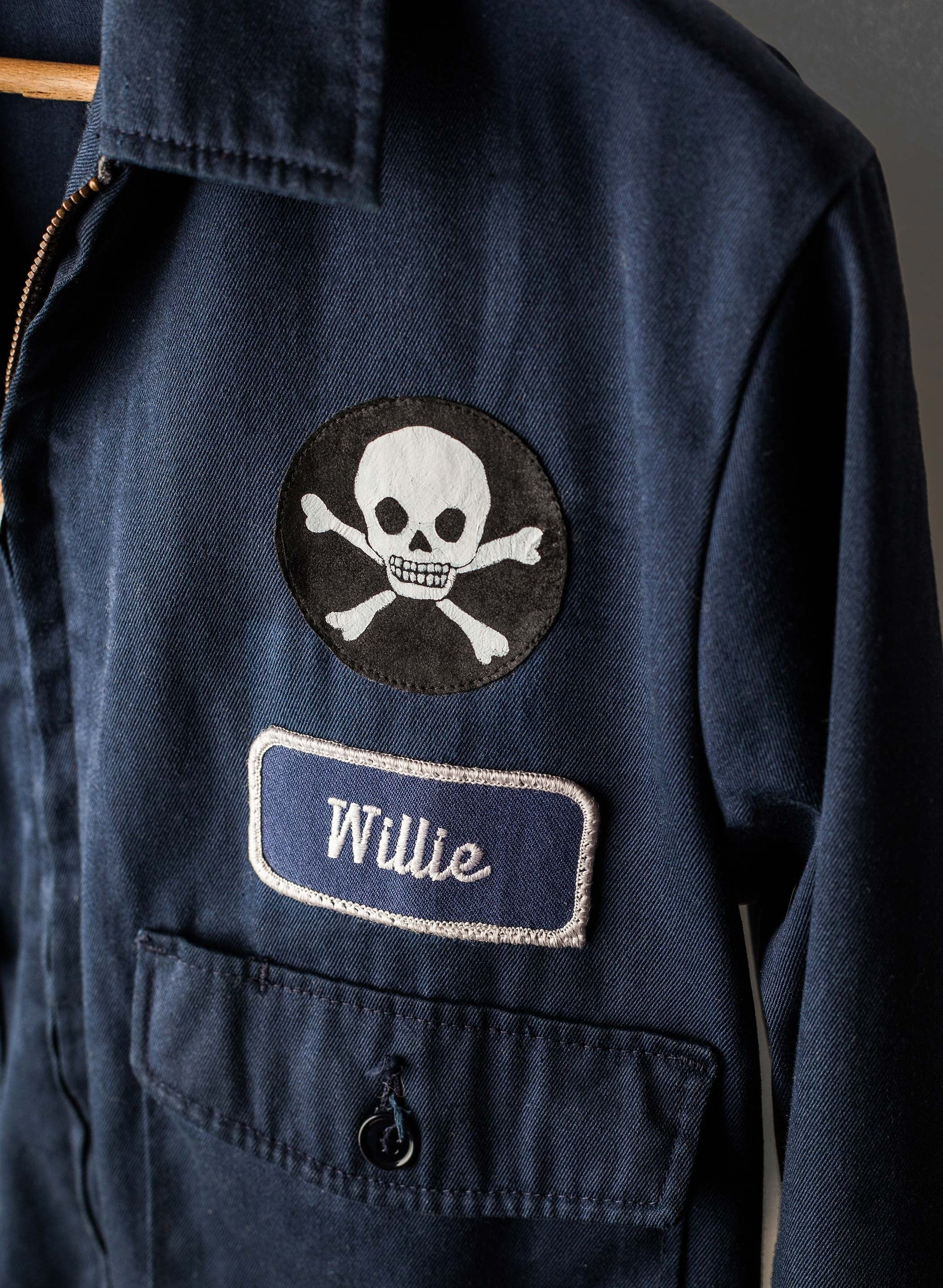 "imogene + willie - vintage stitched ""vanitas"" jacket"