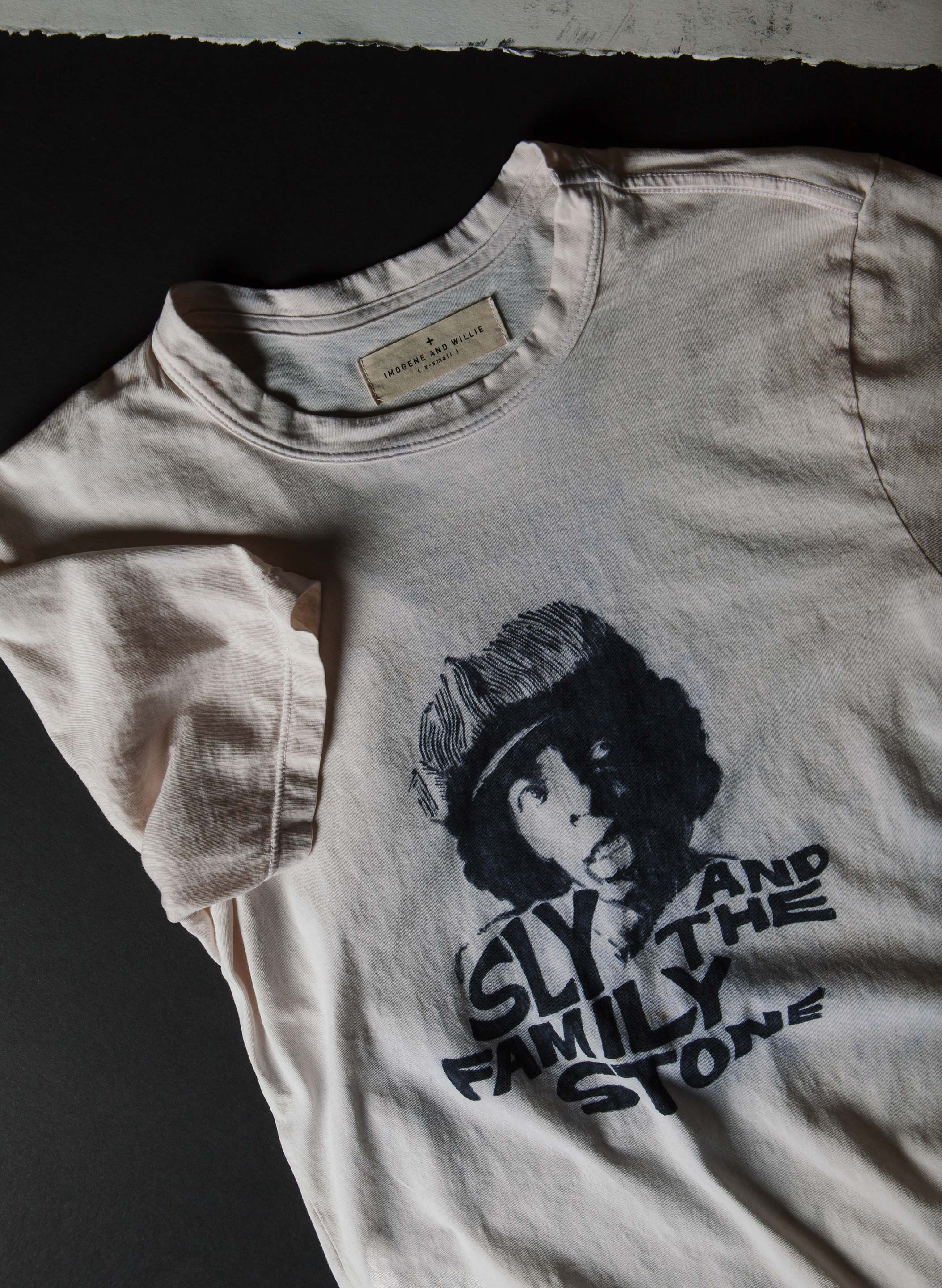 "imogene + willie - bootleg ""higher and higher"" tee"