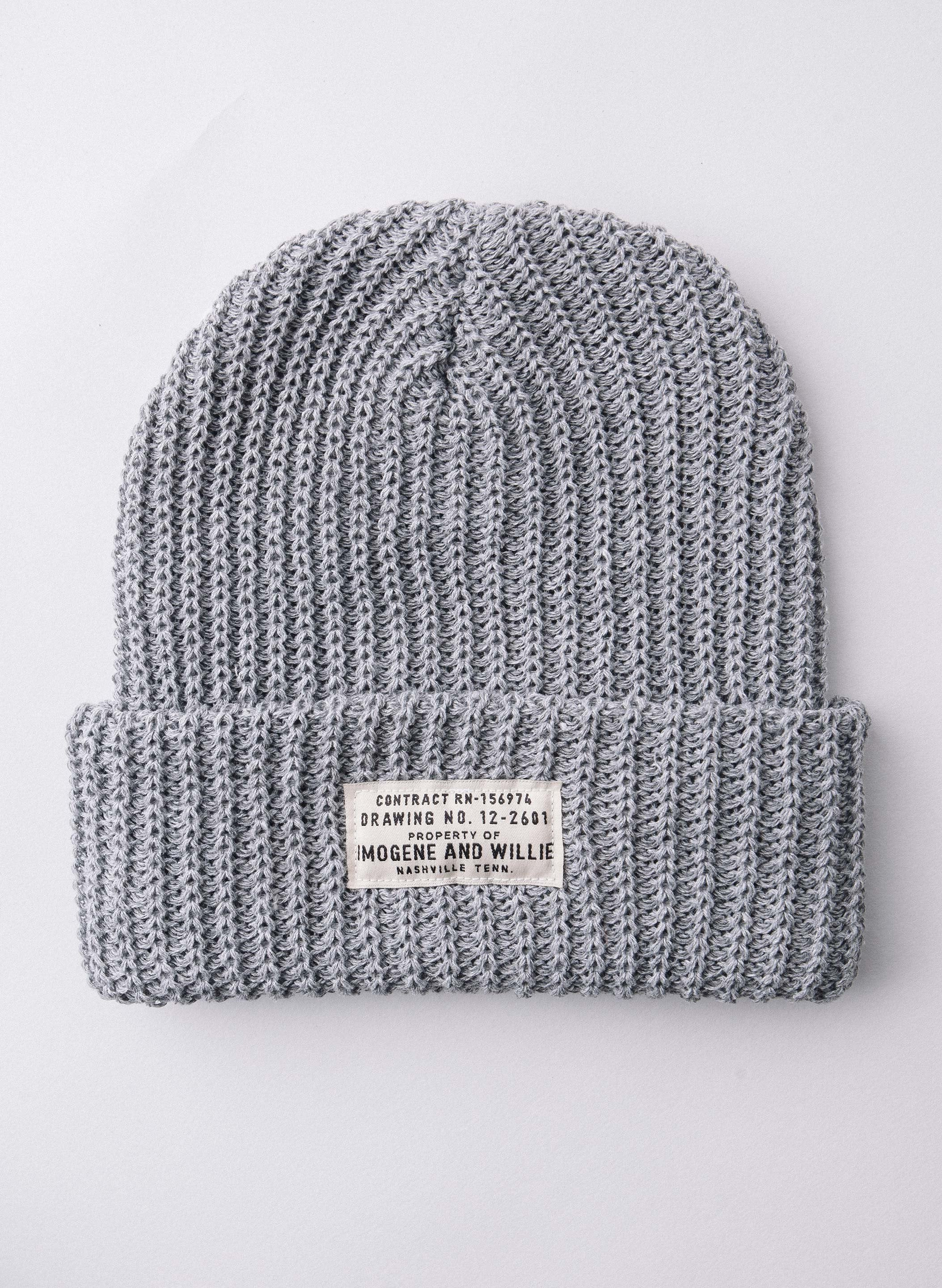 imogene + willie - the i+w grey watch cap