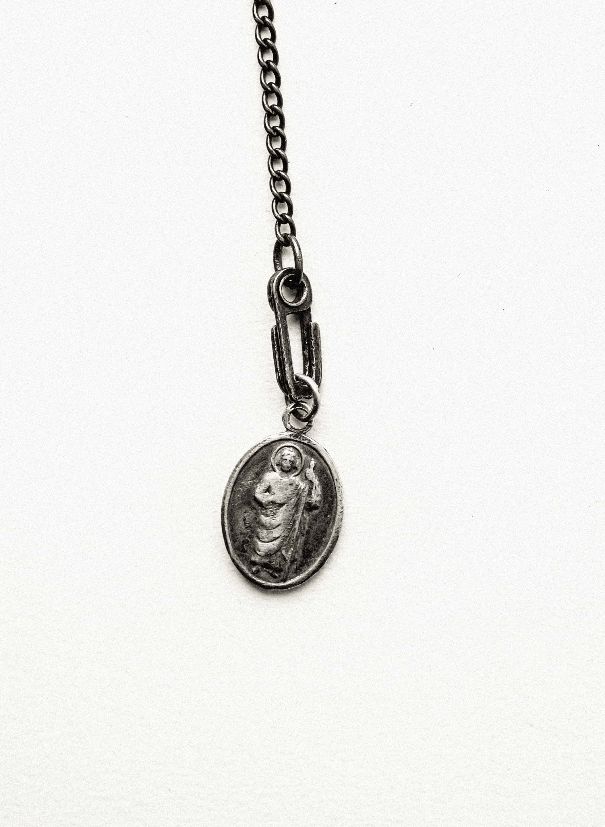 "imogene + willie - 1950s ""madonna & child"" medal pendant"