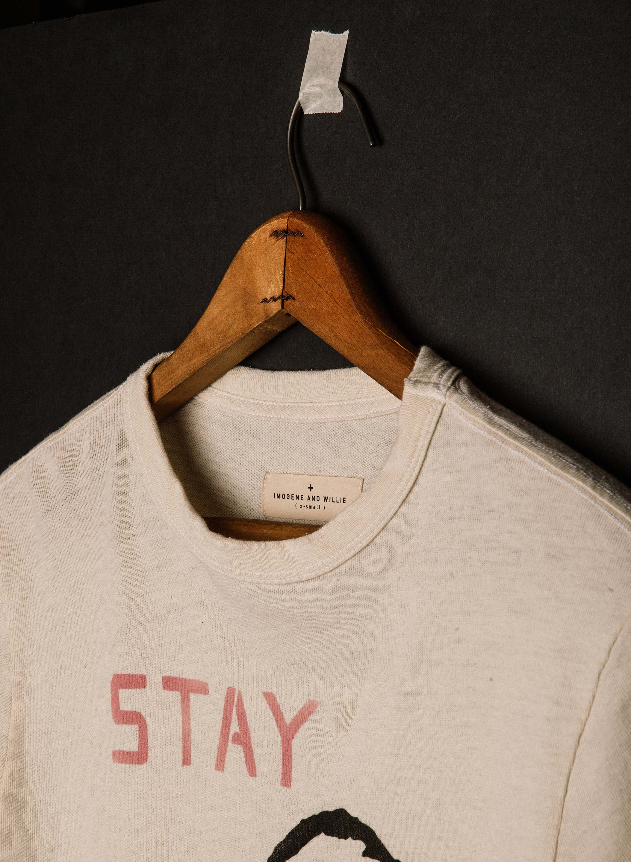"imogene + willie - the ""stay home"" tee"