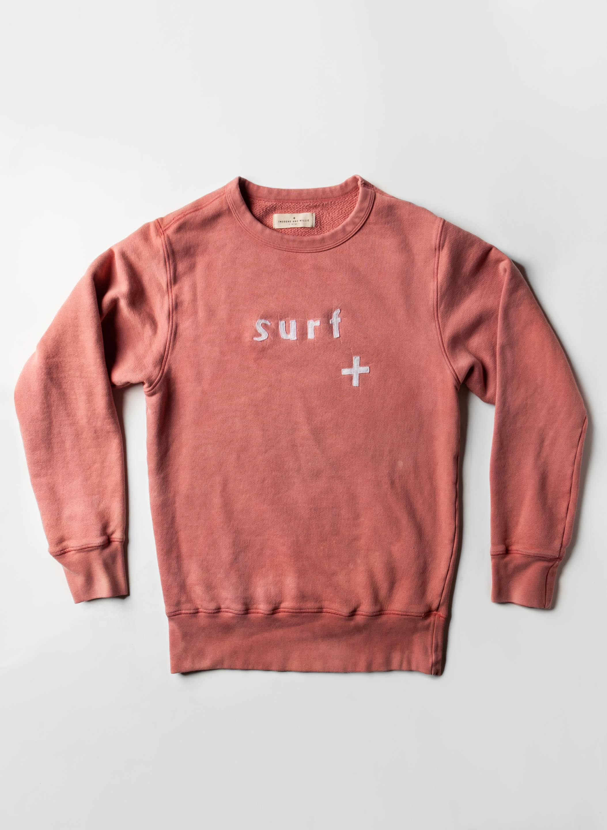 "imogene + willie - sunbleached ""surf"" sweatshirt"