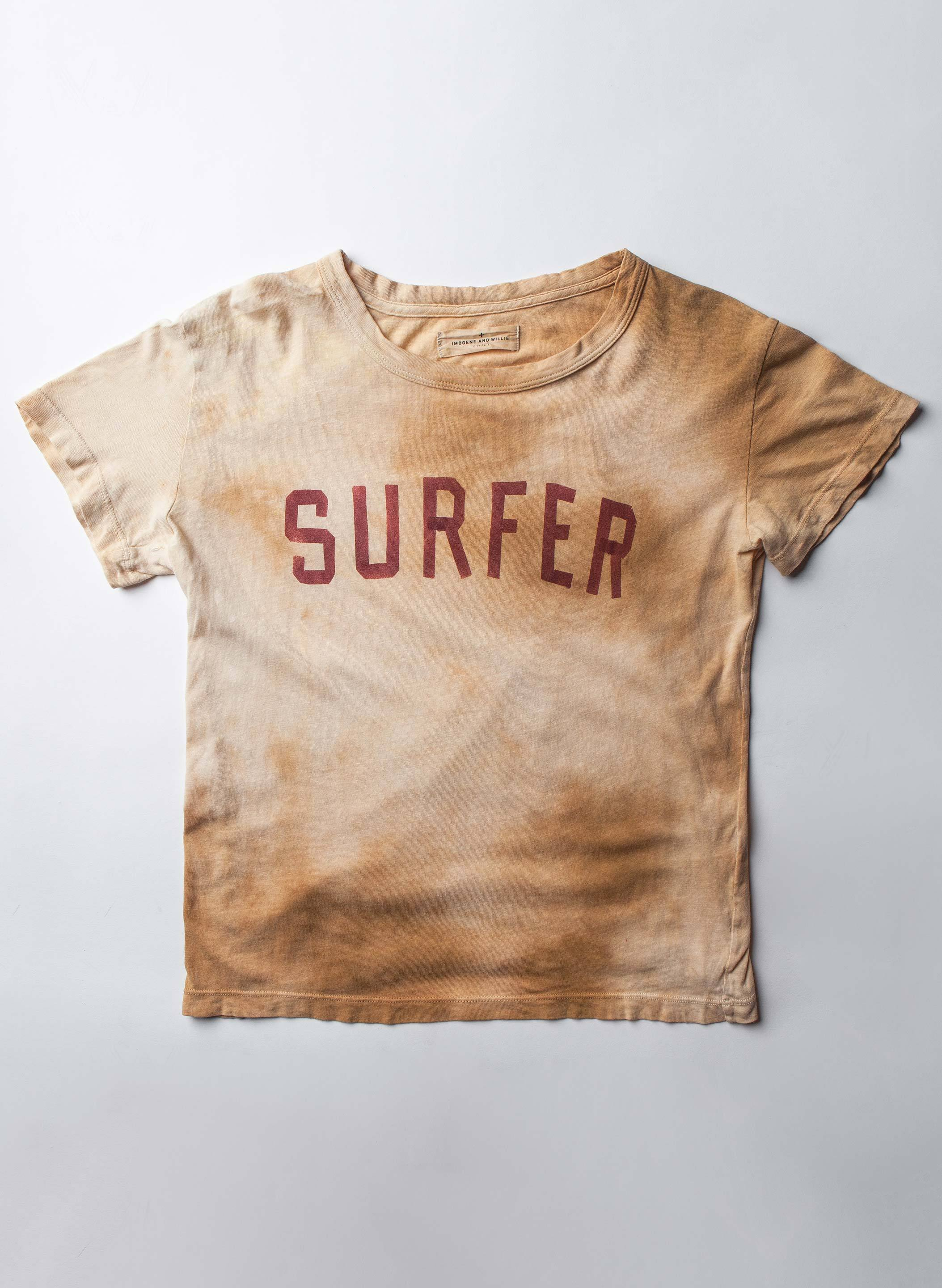 "imogene + willie - the handpainted ""surfer"" drop tee"