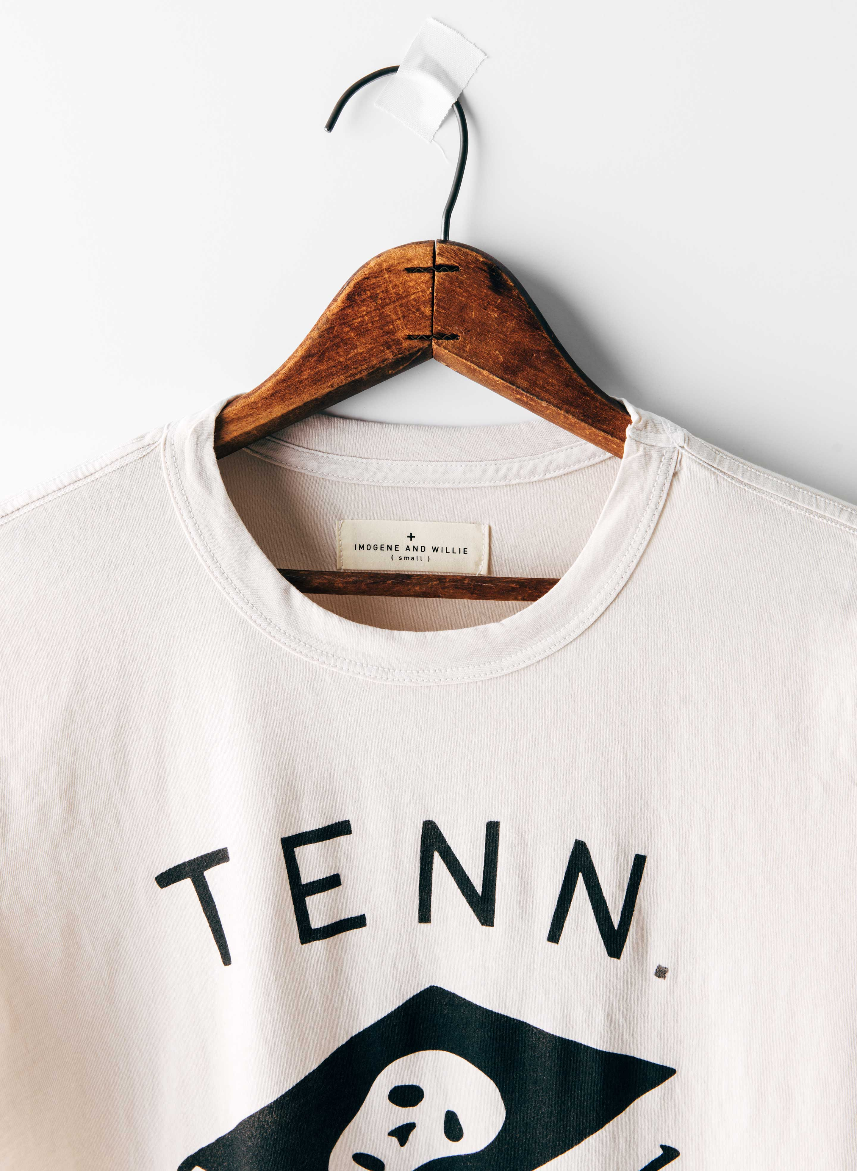"imogene + willie - the painted ""tenn. high"" tee"