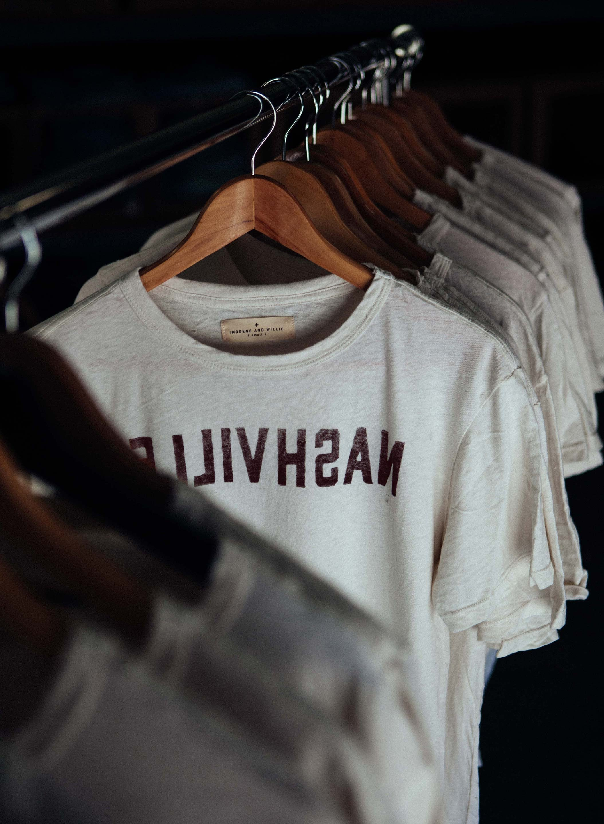 "imogene + willie - the ""nashville"" tee"