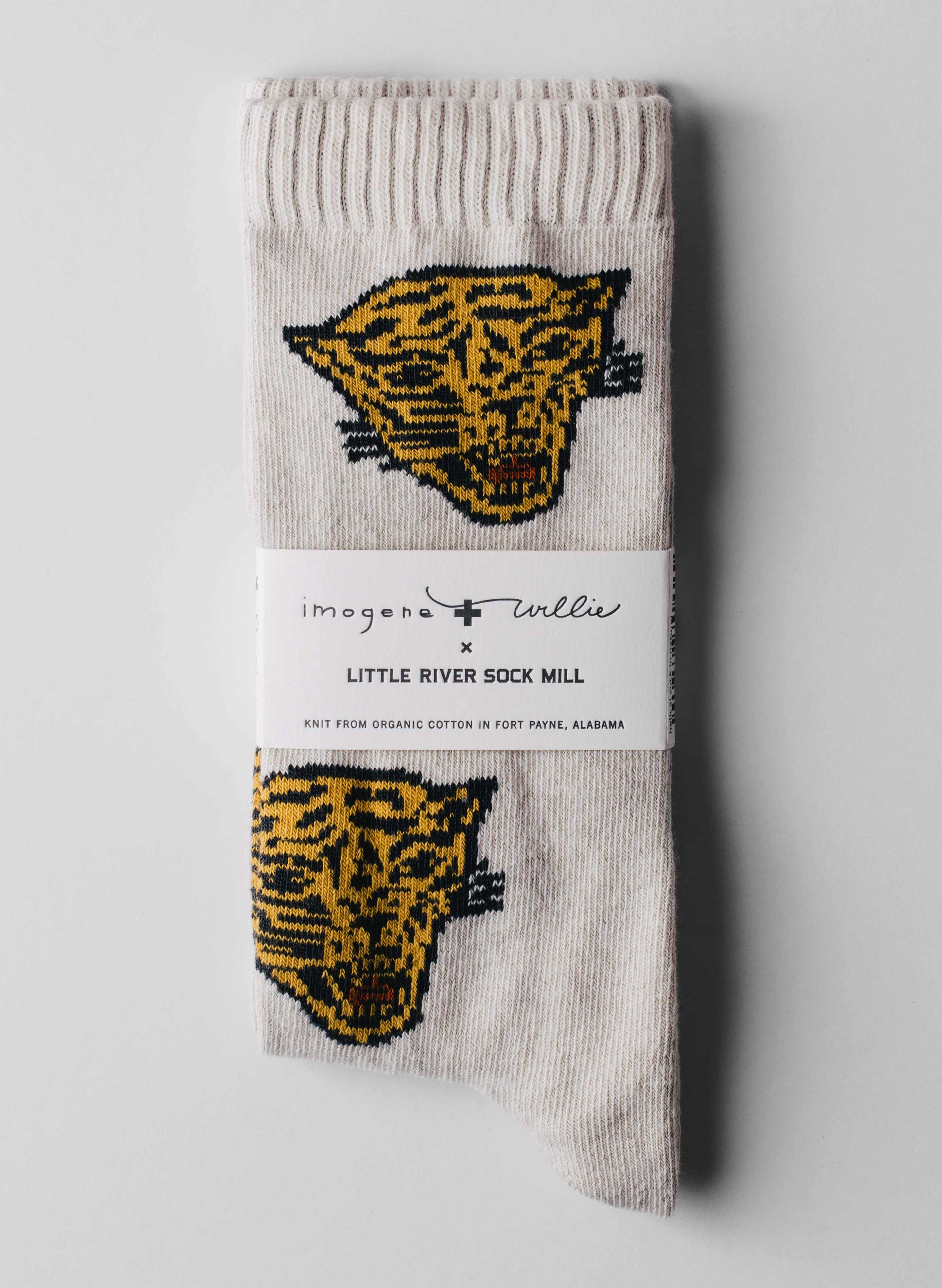 imogene + willie - hellcat sock in natural