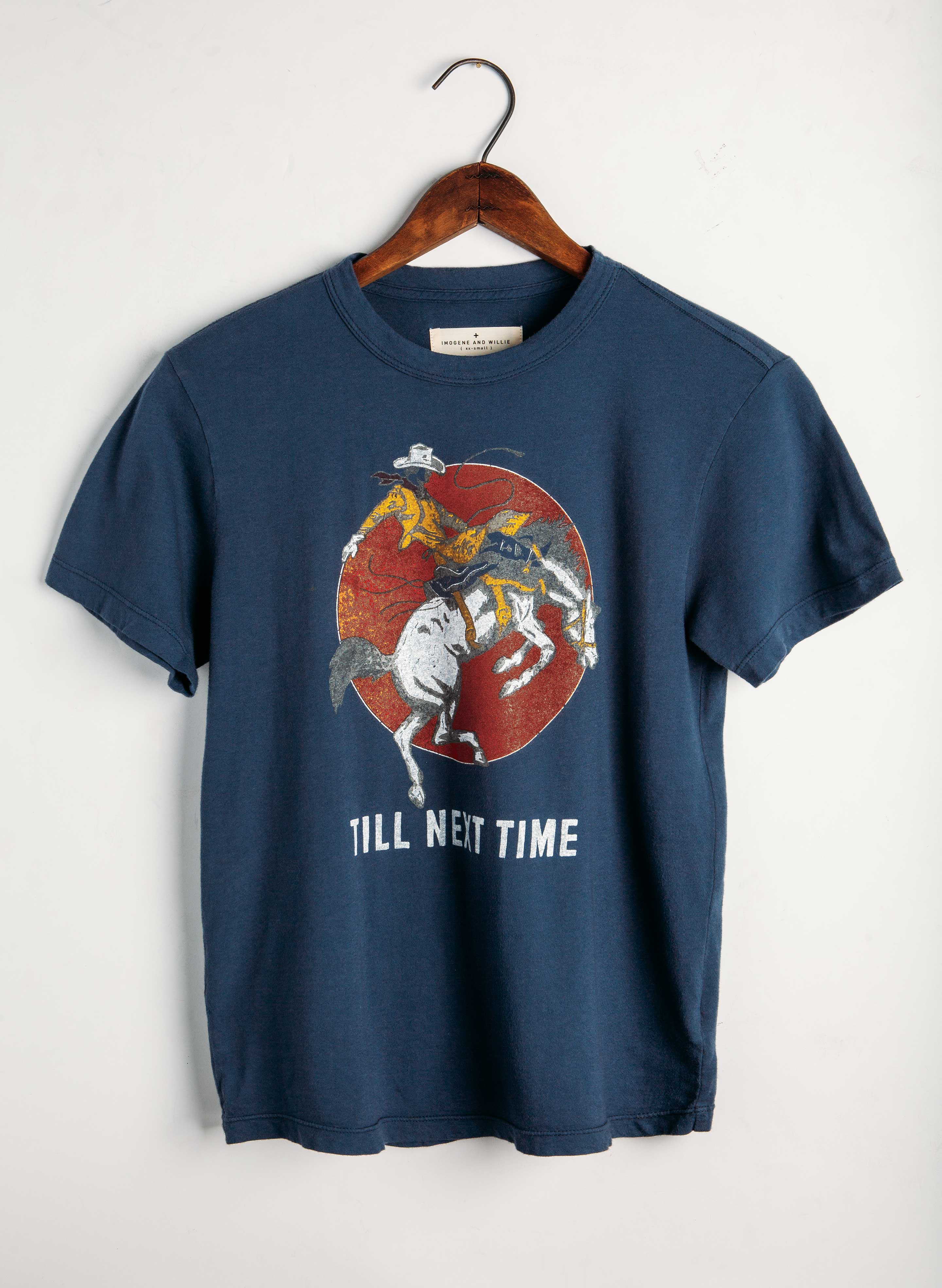 "imogene + willie - the ""next time"" tee"