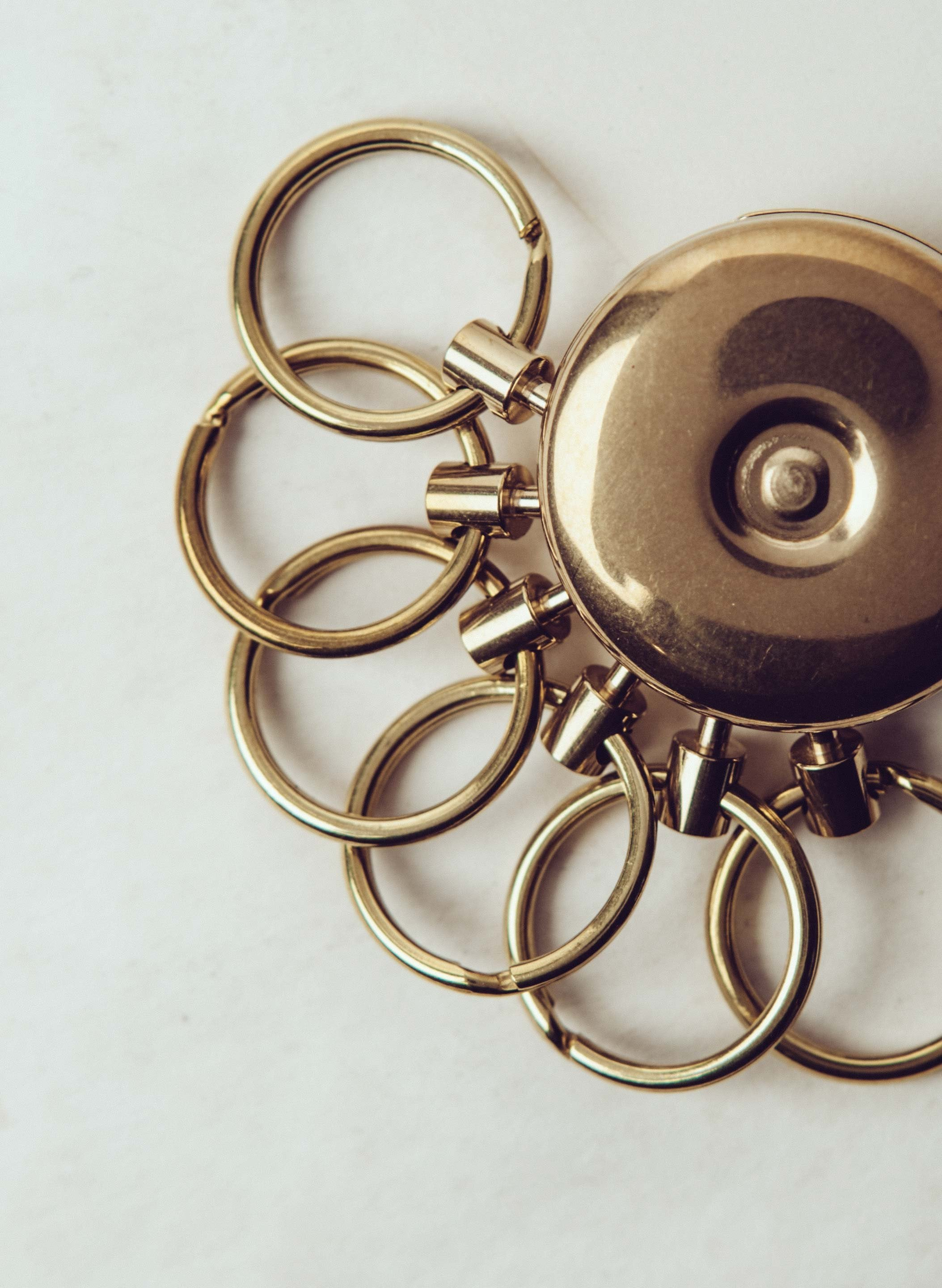 imogene + willie - japanese brass key holder