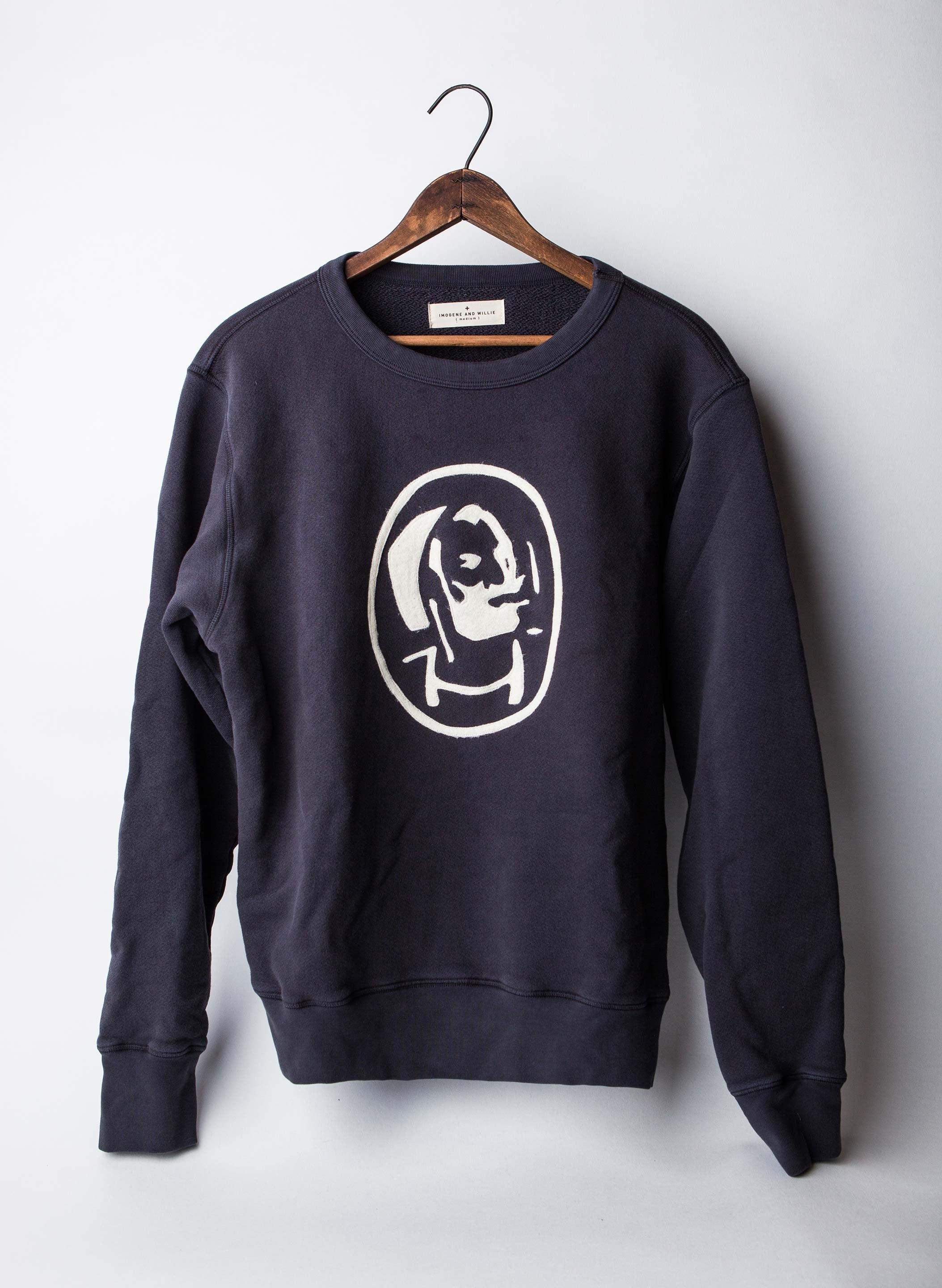 "imogene + willie - stitched ""zouave"" sweatshirt"