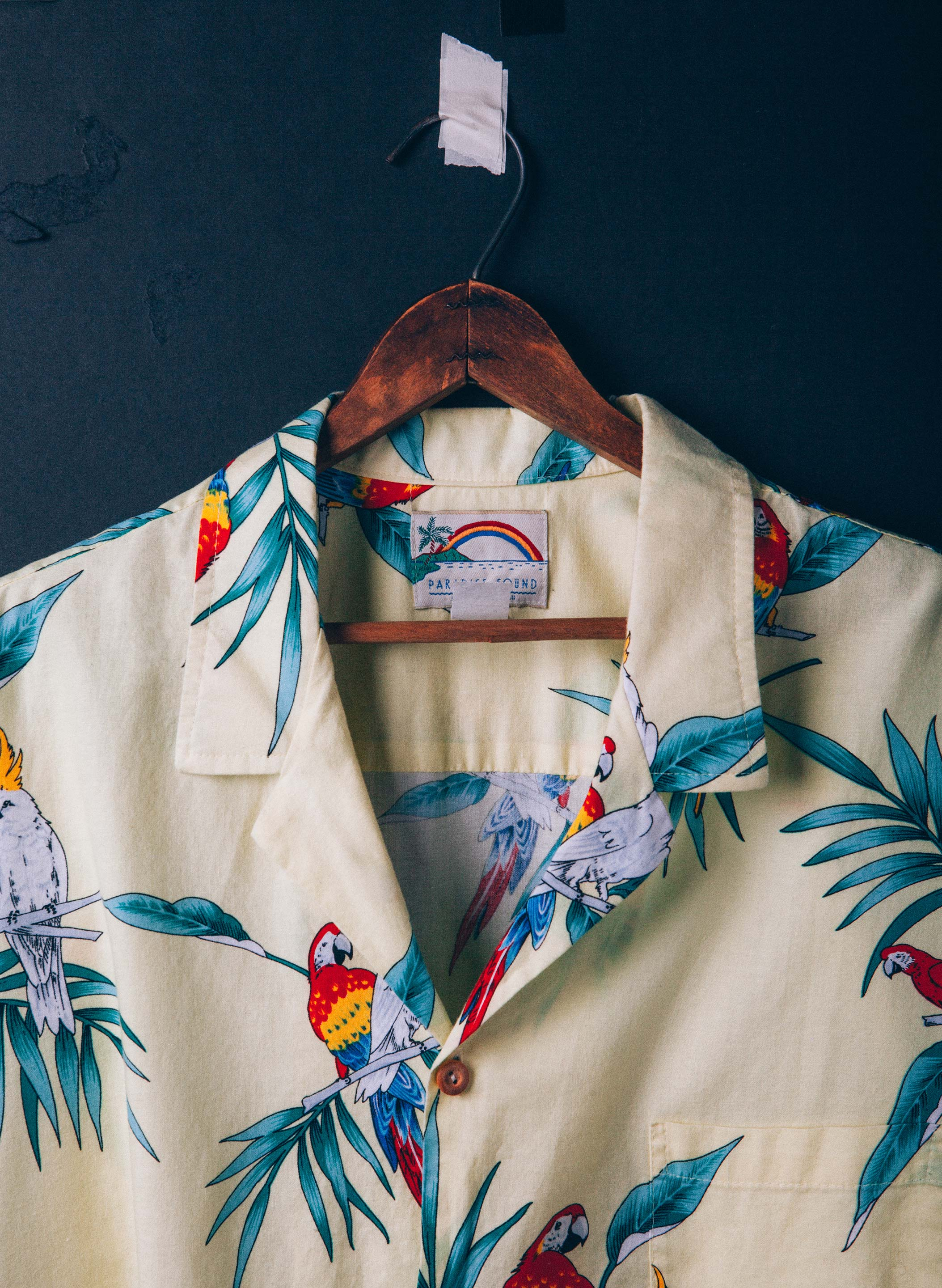 "imogene + willie - vintage ""dalton"" hawaiian shirt"