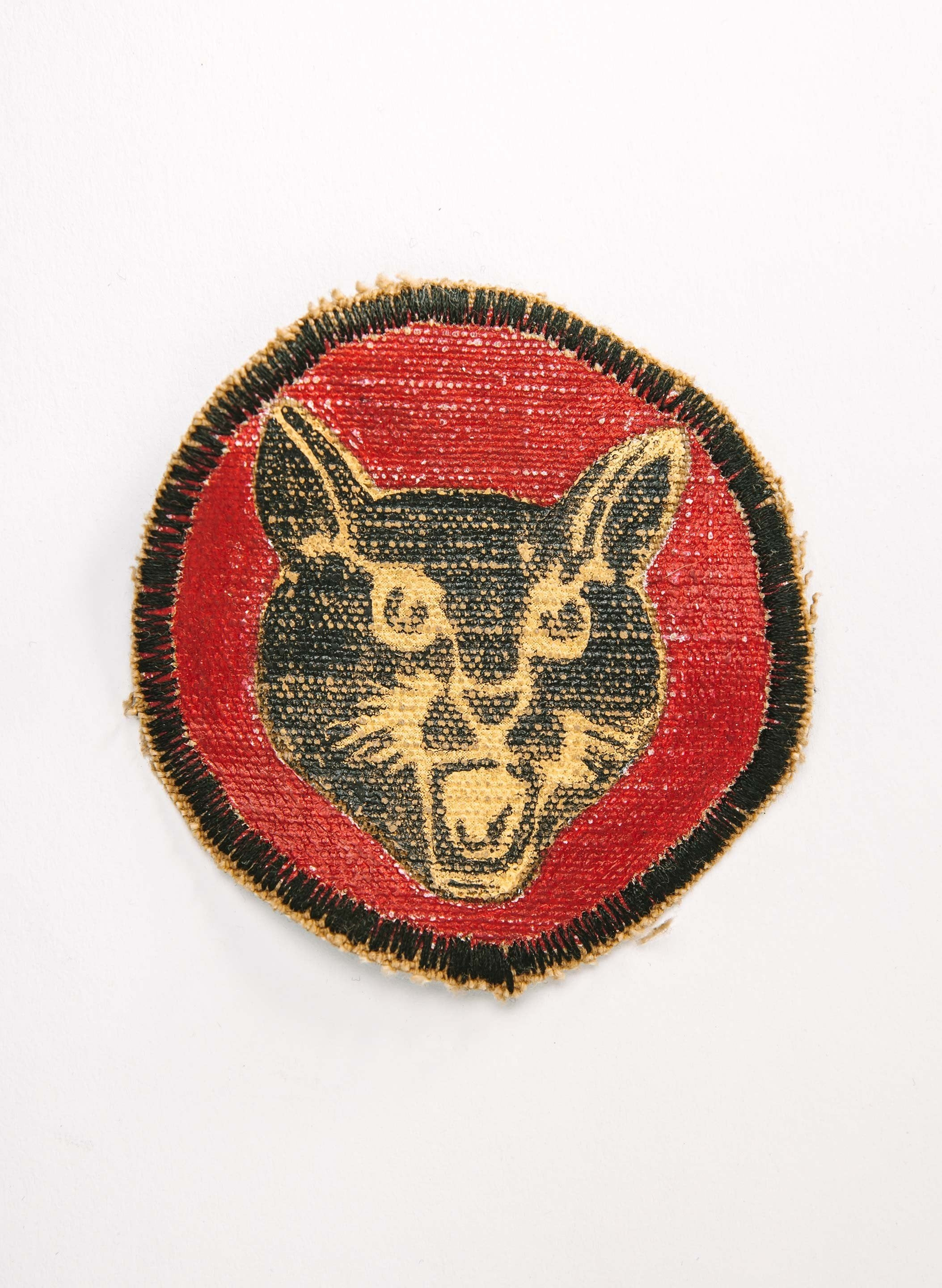 "imogene + willie - painted ""black cat"" patch"