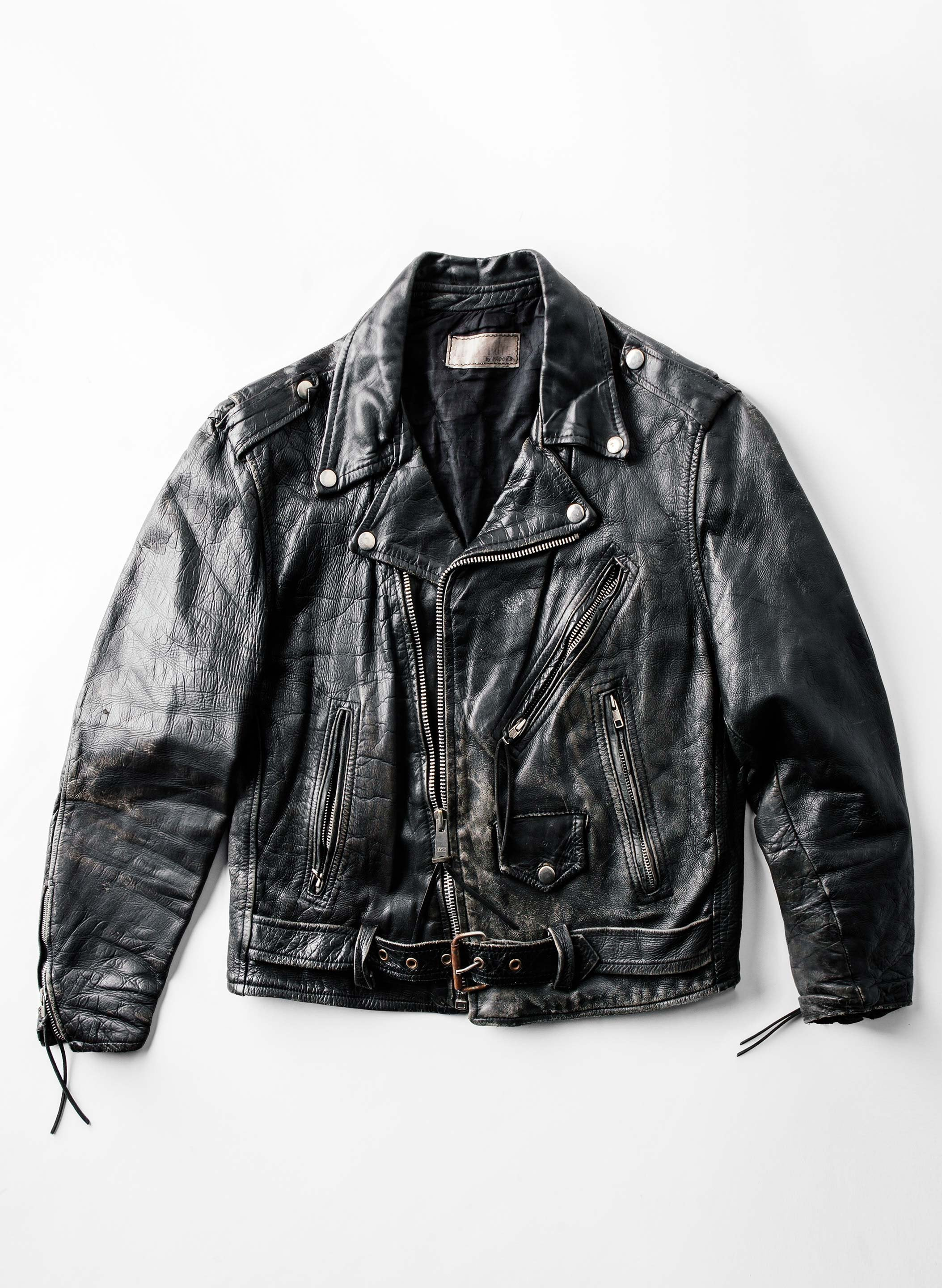 imogene + willie - vintage brooks leather jacket