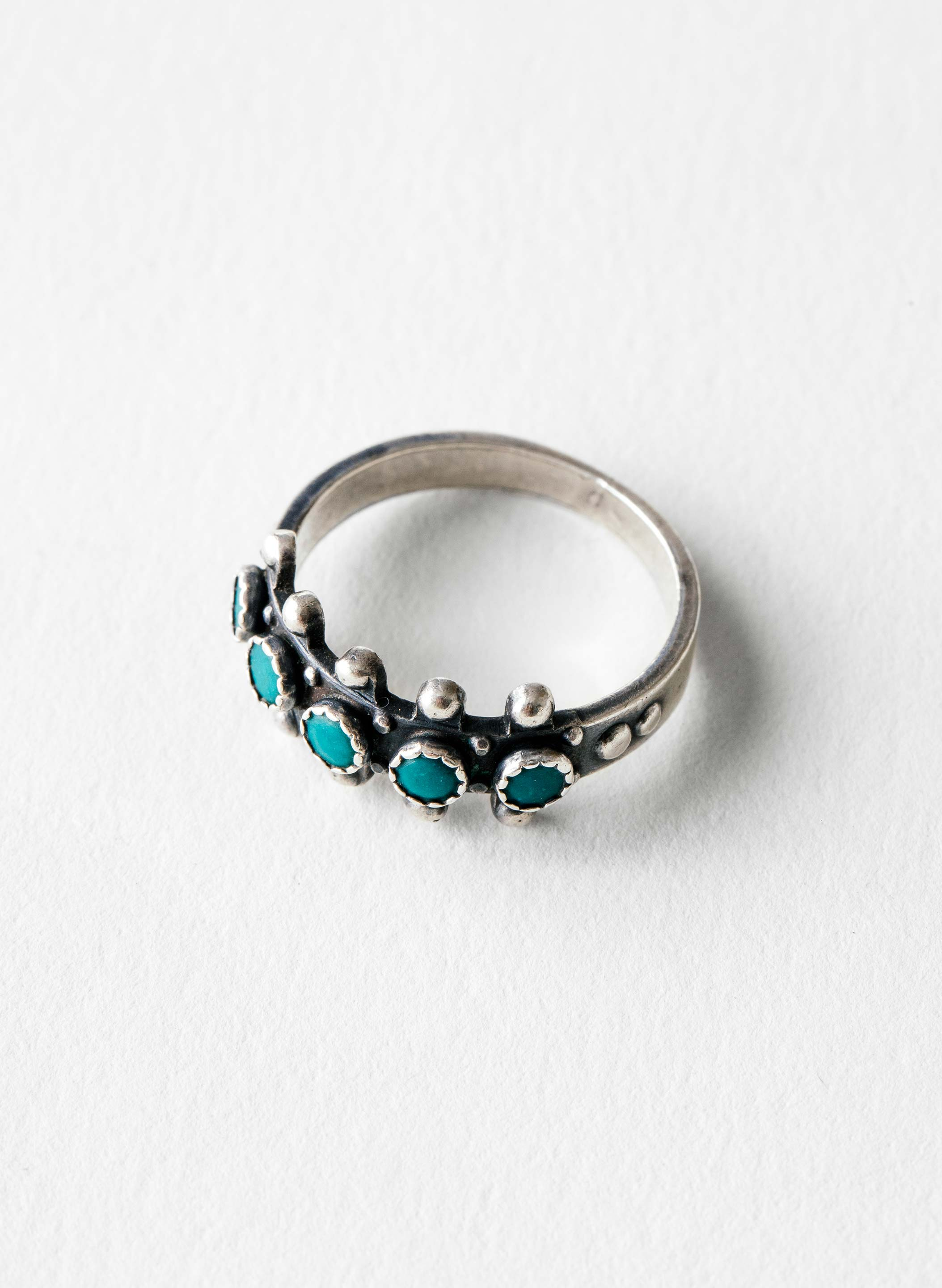 "imogene + willie - vintage ""ashena"" zuni ring"