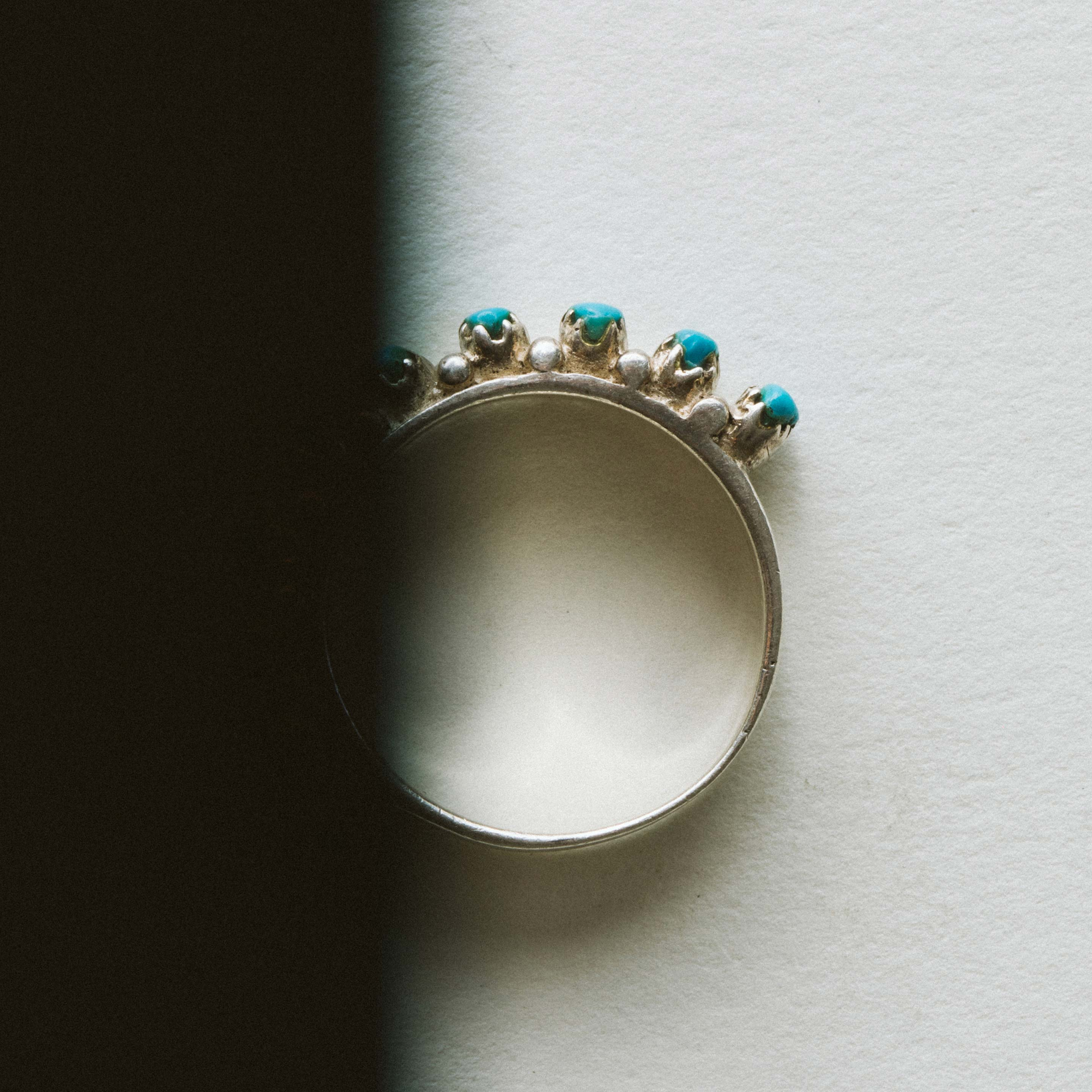 "imogene + willie - vintage ""okya"" zuni ring"