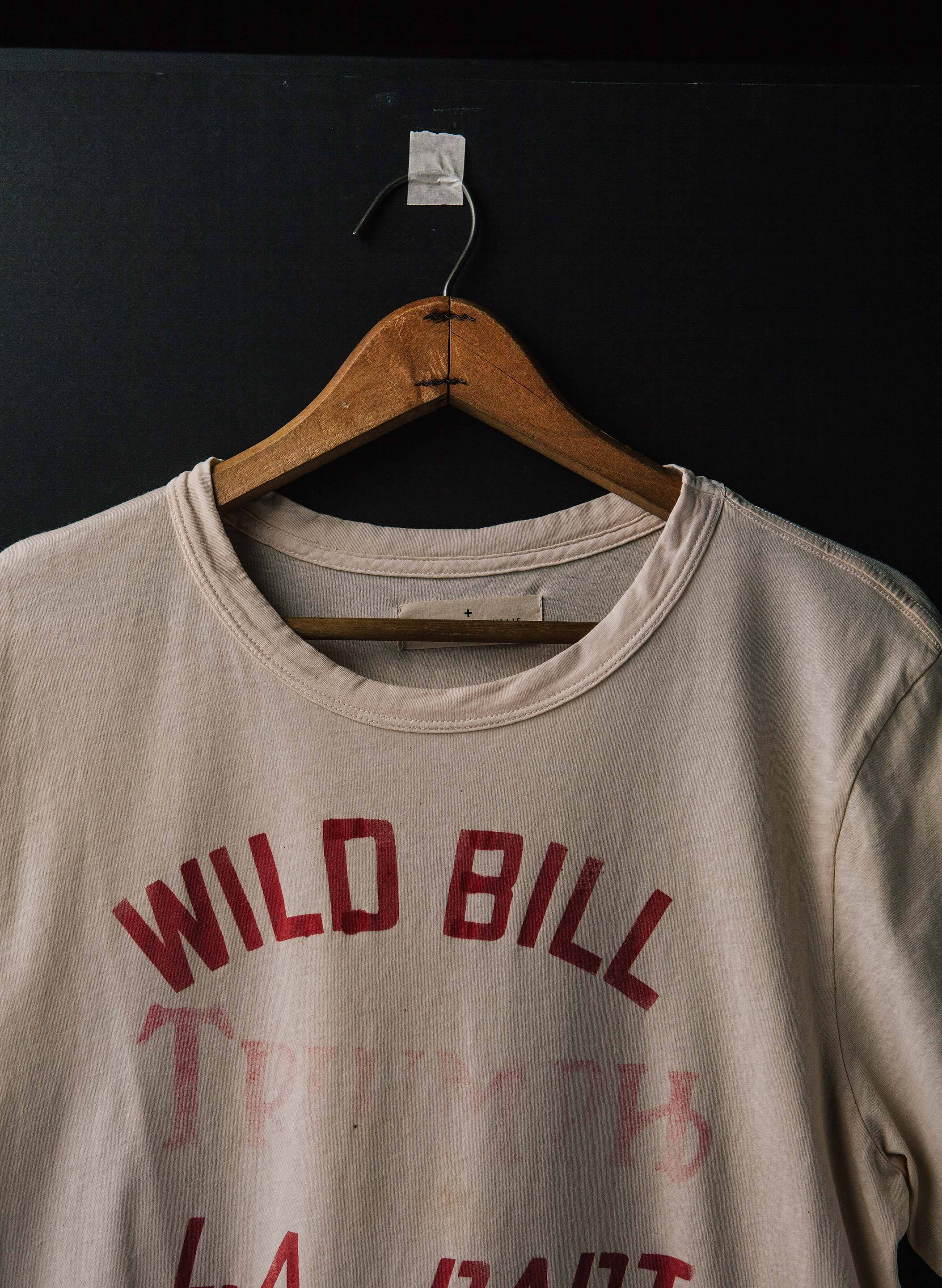 "imogene + willie - the handpainted ""wild bill"" tee"
