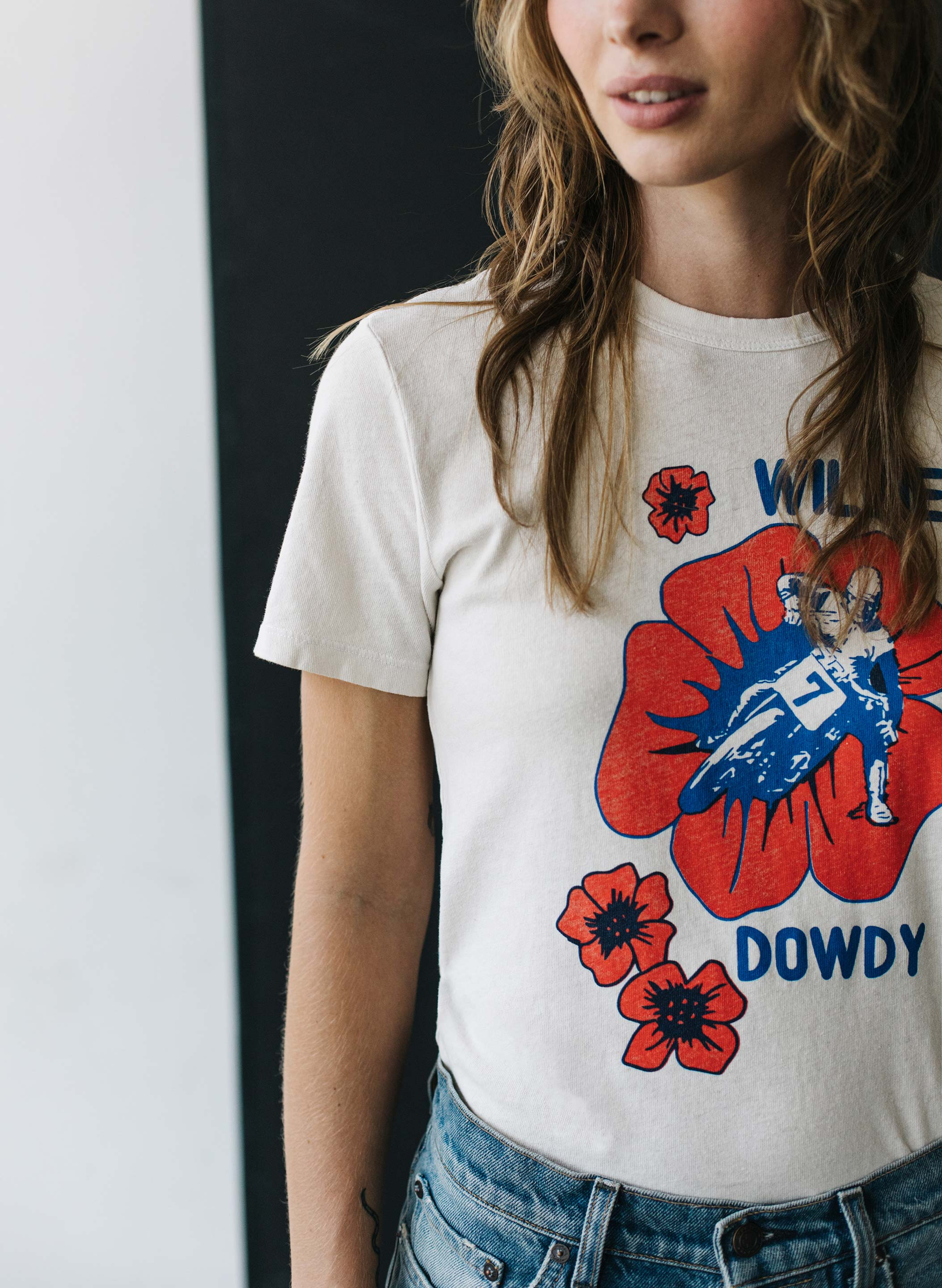 "imogene + willie - the ""willie dowdy"" tee"