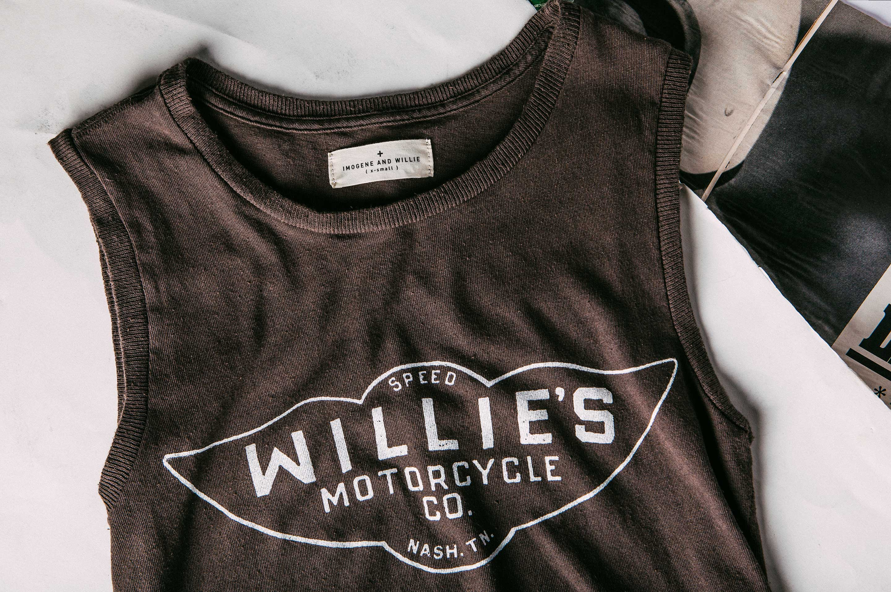 "imogene + willie - the ""speedshop"" muscle tee"