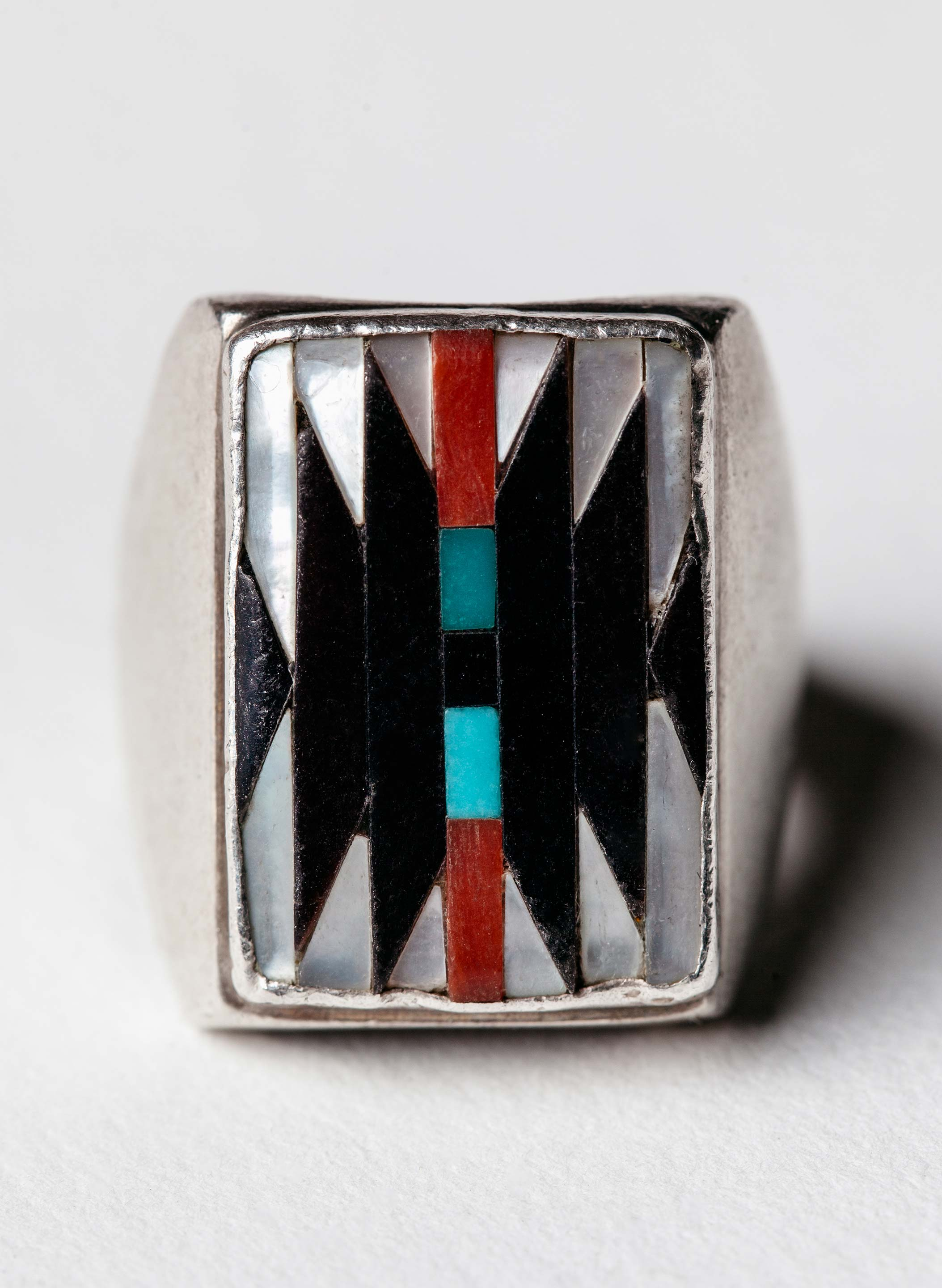 "imogene + willie - vintage ""tacna"" zuni ring"