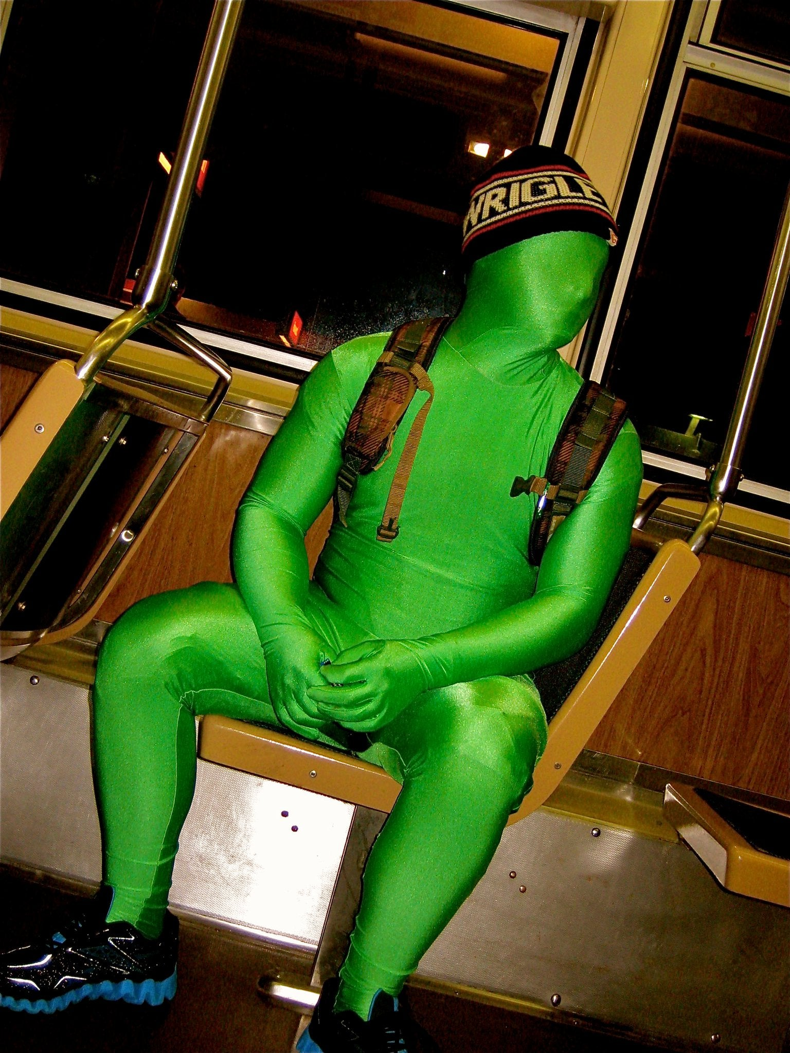 Subway Greenman