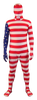 USA Flag Full Body Suit