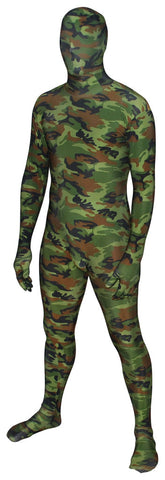Green Camo Full Body Suit