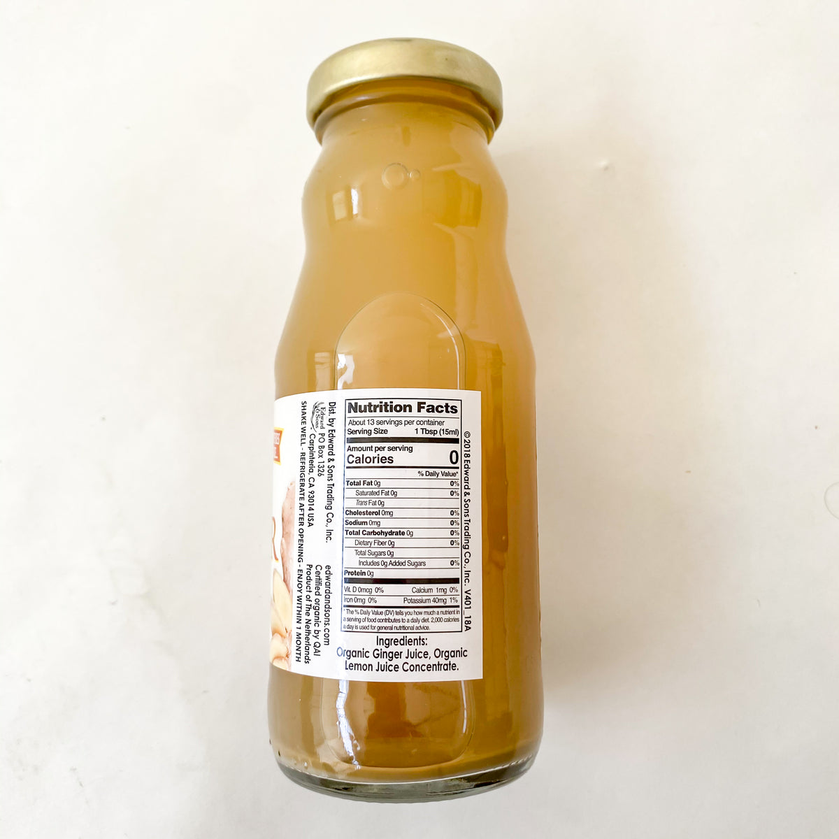 Edward & Sons Ginger Juice