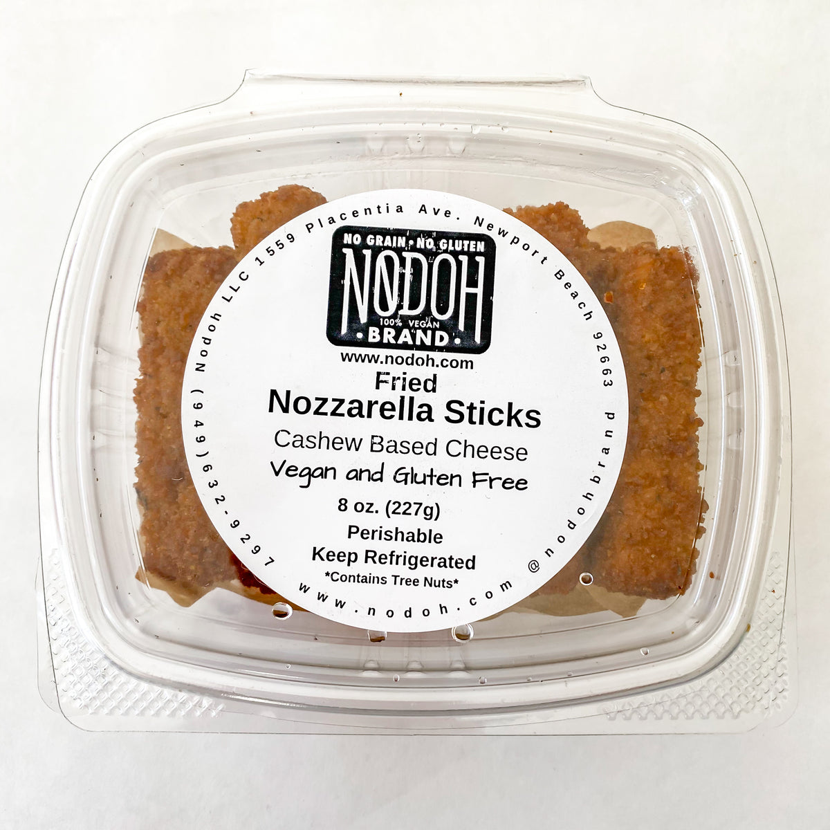 NoDoh Nozzarella Sticks