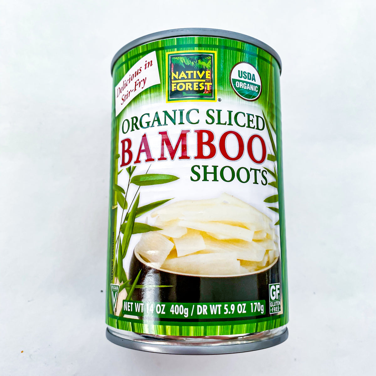 Native Forest Bamboo Shoot Sliced