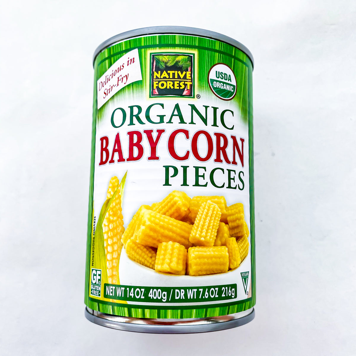 Native Forest Baby Corn Cut