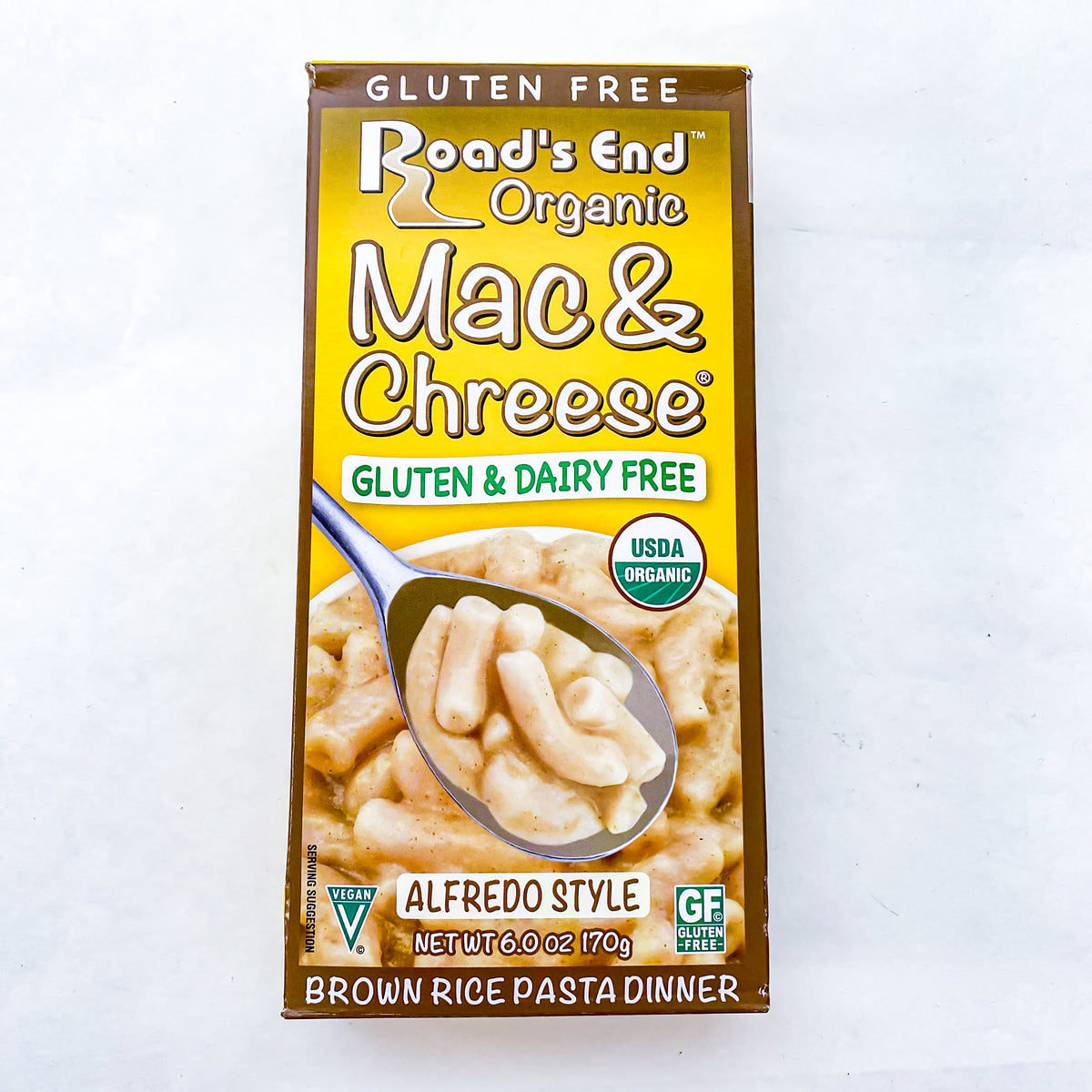 Roads End Mac & Cheese GF
