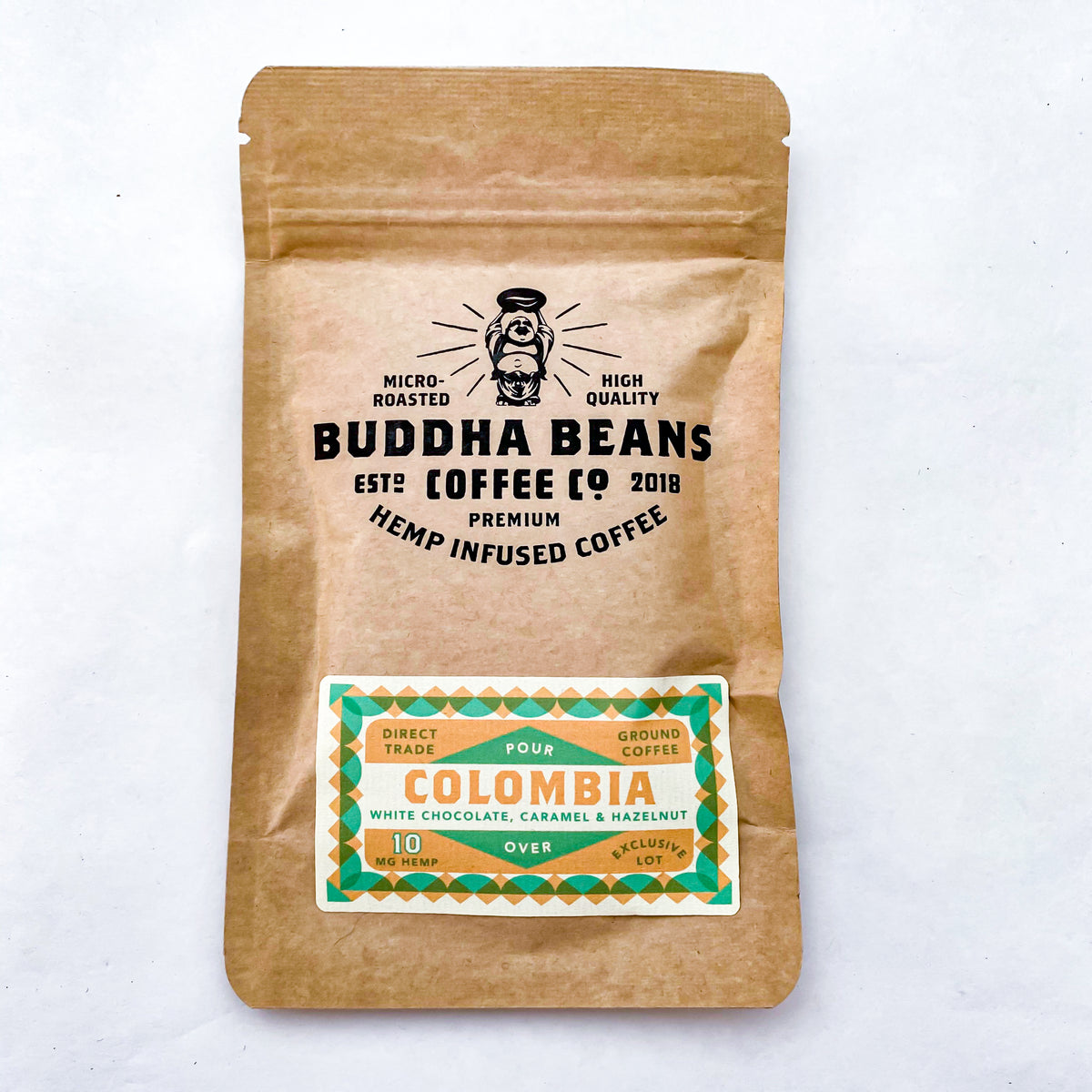 Buddha Beans Single Serve Pour Over Columbia