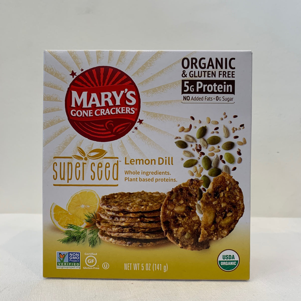 Mary's Super Seed Lemon Dill