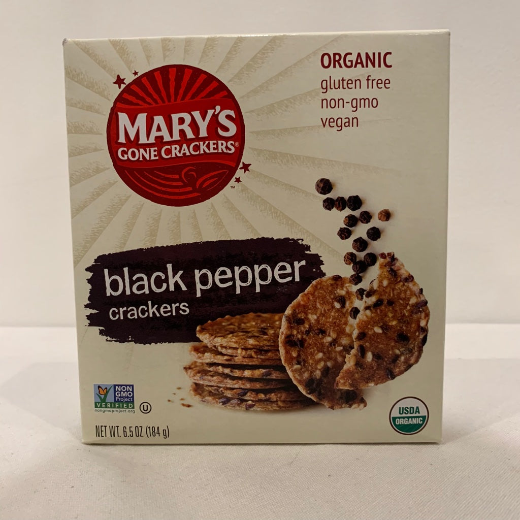 Marys Gone Crackers Black Pepper