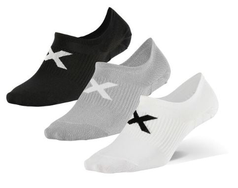 2XU INVISIBLE SOCK 3 PACK