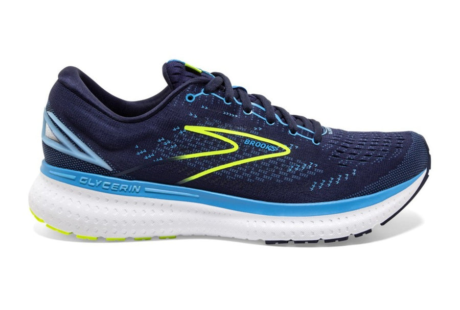 BROOKS GLYCERIN 19 (D WIDTH)- NAVY/BLUE/NIGHTLIFE (MENS)