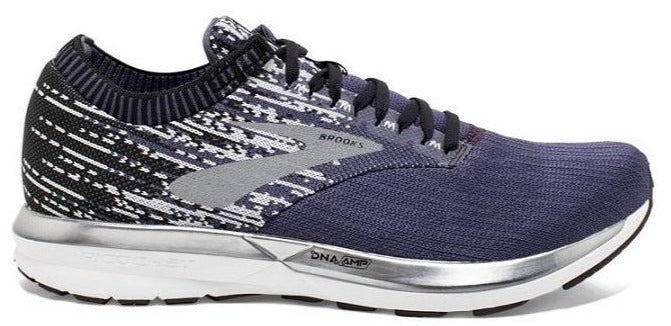 BROOKS RICOCHET (MENS) - GREYSTONE/GREY/NAVY