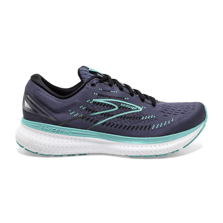 BROOKS GLYCERIN 19 (B WIDTH)- NIGHT SHADOW/BLACK/BLUE (WOMENS)