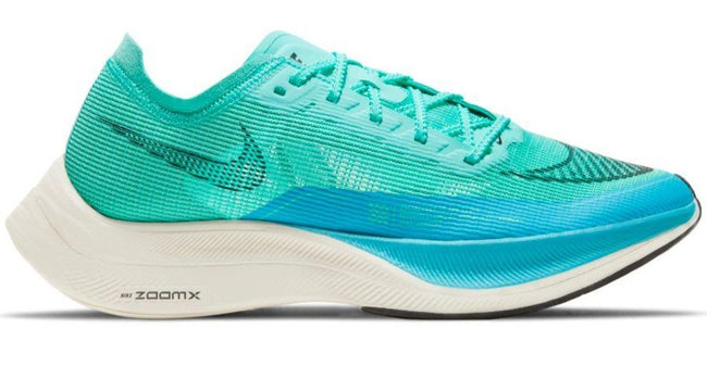 NIKE ZOOMX VAPORFLY NEXT % 2 (WOMENS) - AURORA GREEN/ BLACK