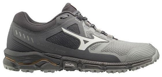 MIZUNO WAVE DAICHI 5 TRAIL (MENS) - METAL GREY/BLACK
