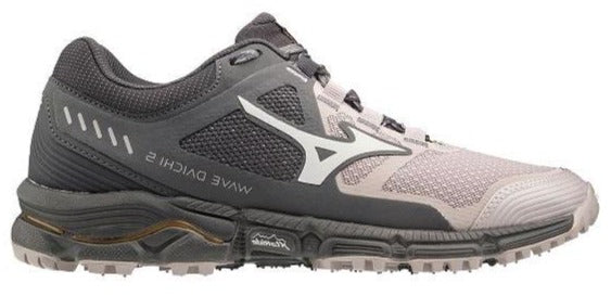 MIZUNO WAVE DAICHI 5 TRAIL (WOMENS) - CLOUD GREY/BLACK