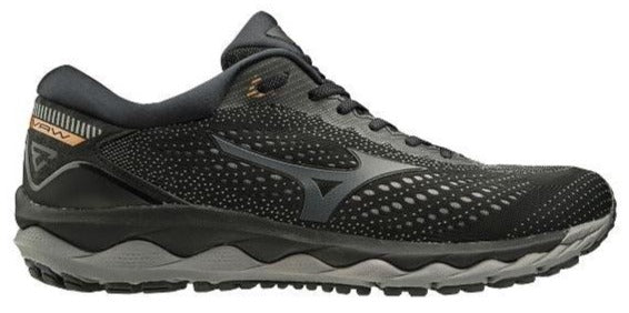 MIZUNO WAVE SKY 3 (MENS) - BLACK/ BLACK
