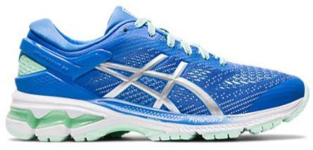 ASICS GEL-KAYANO 26 GS (KIDS) - BLUE COAST/PURE SILVER