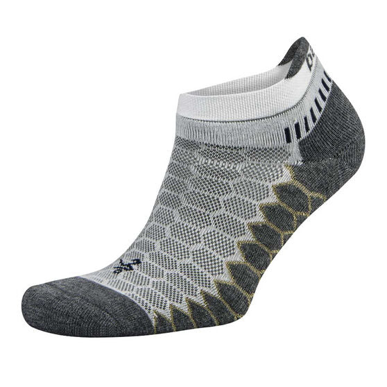 BALEGA SILVER SOCKS - WHITE (NO SHOW)